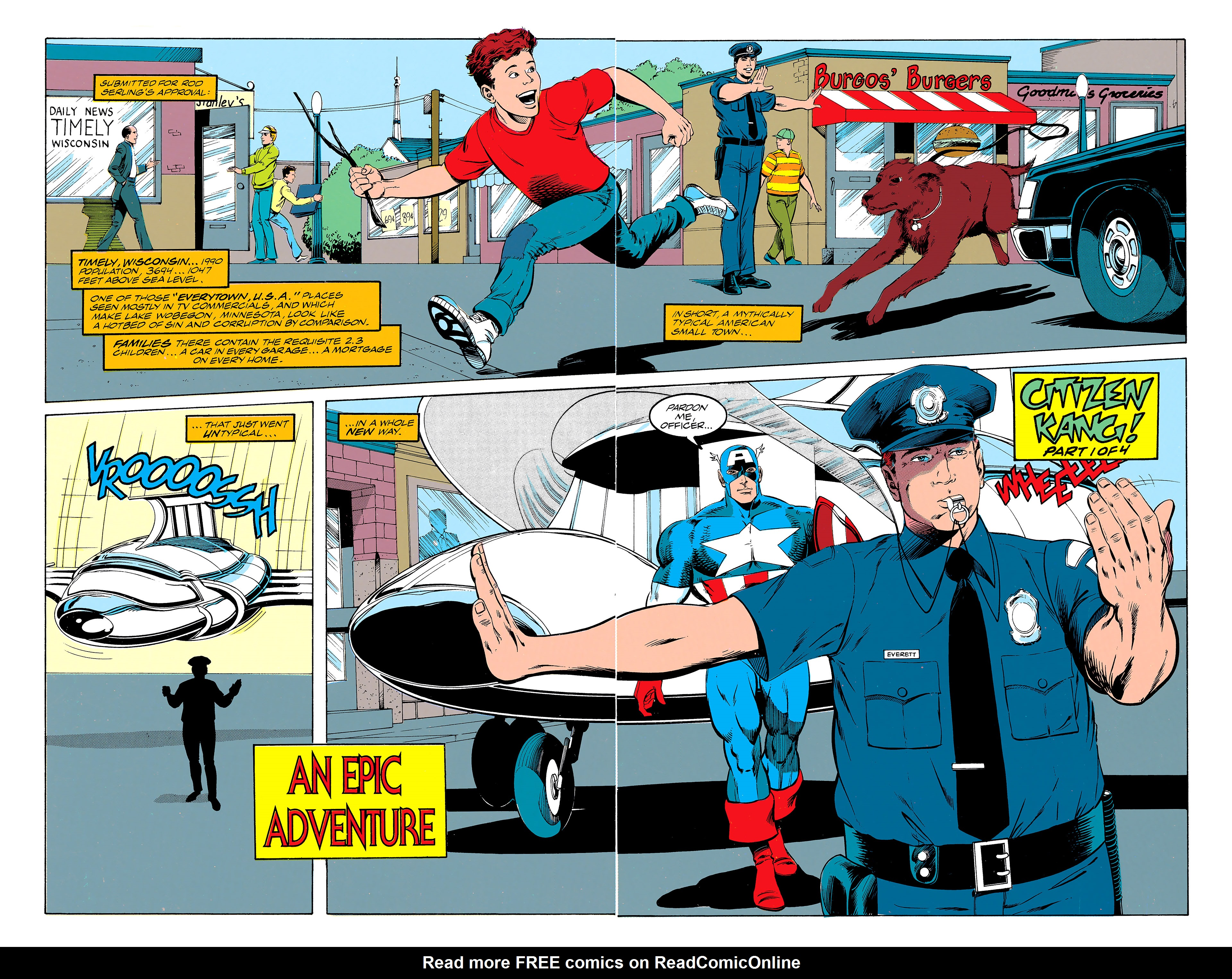 Read online Captain America (1968) comic -  Issue # _Annual 11 - 3
