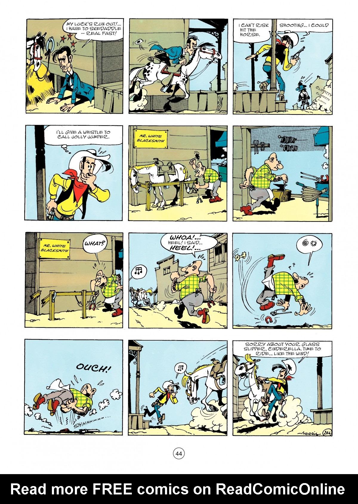 Read online A Lucky Luke Adventure comic -  Issue #44 - 44