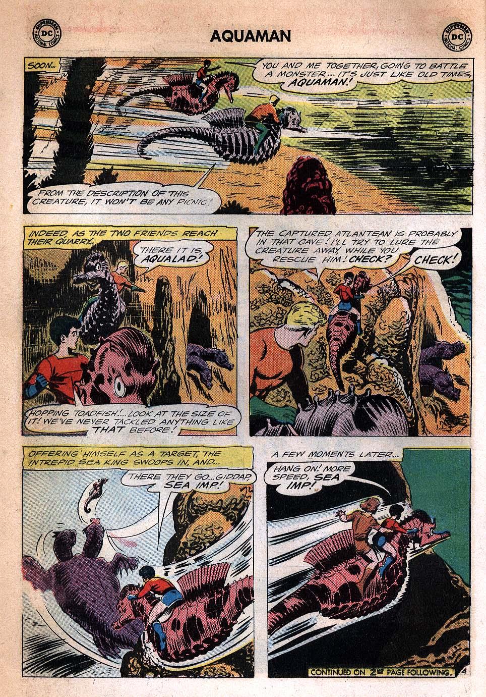Read online Aquaman (1962) comic -  Issue #20 - 6