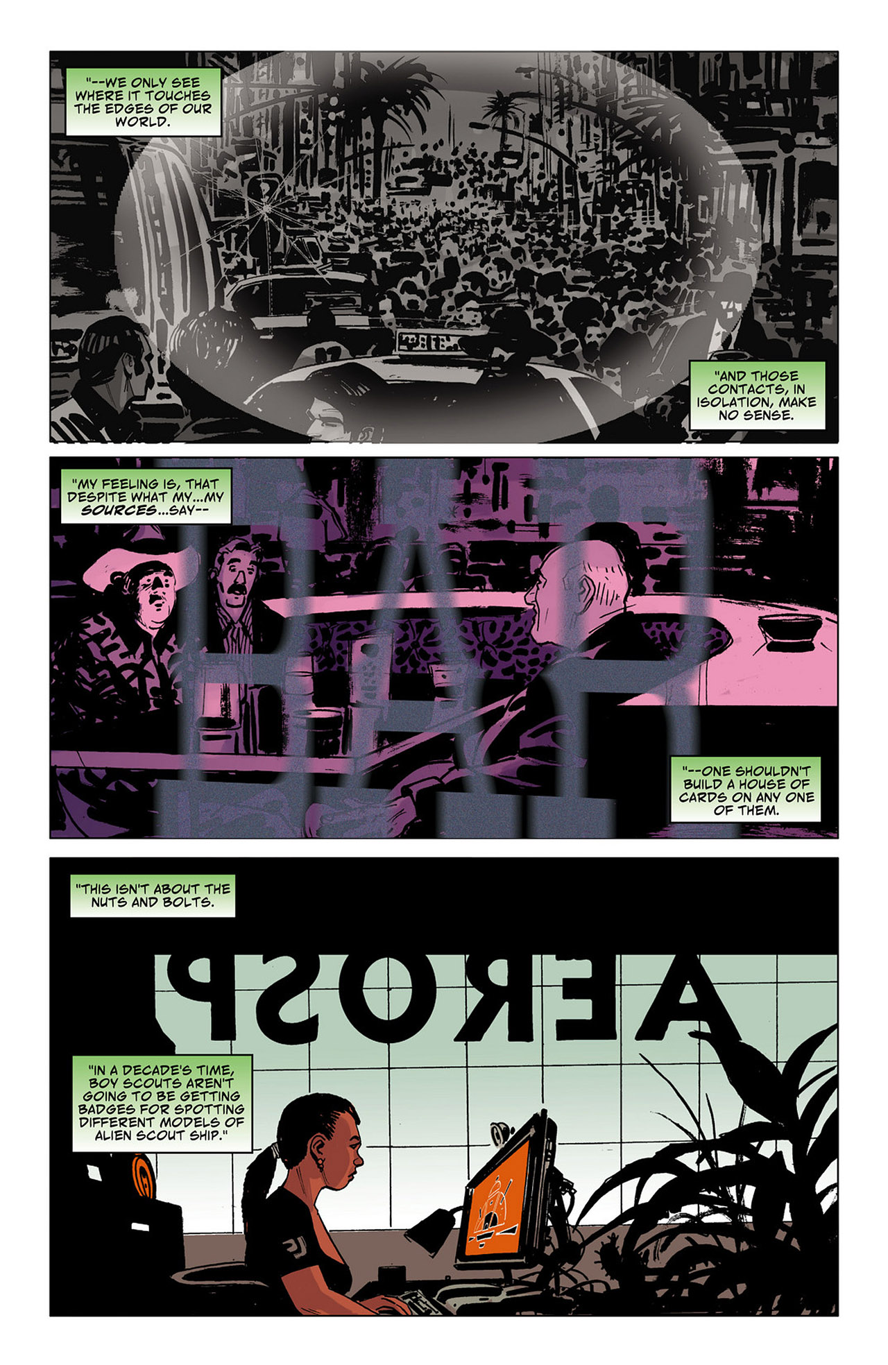 Read online Saucer Country comic -  Issue #6 - 19