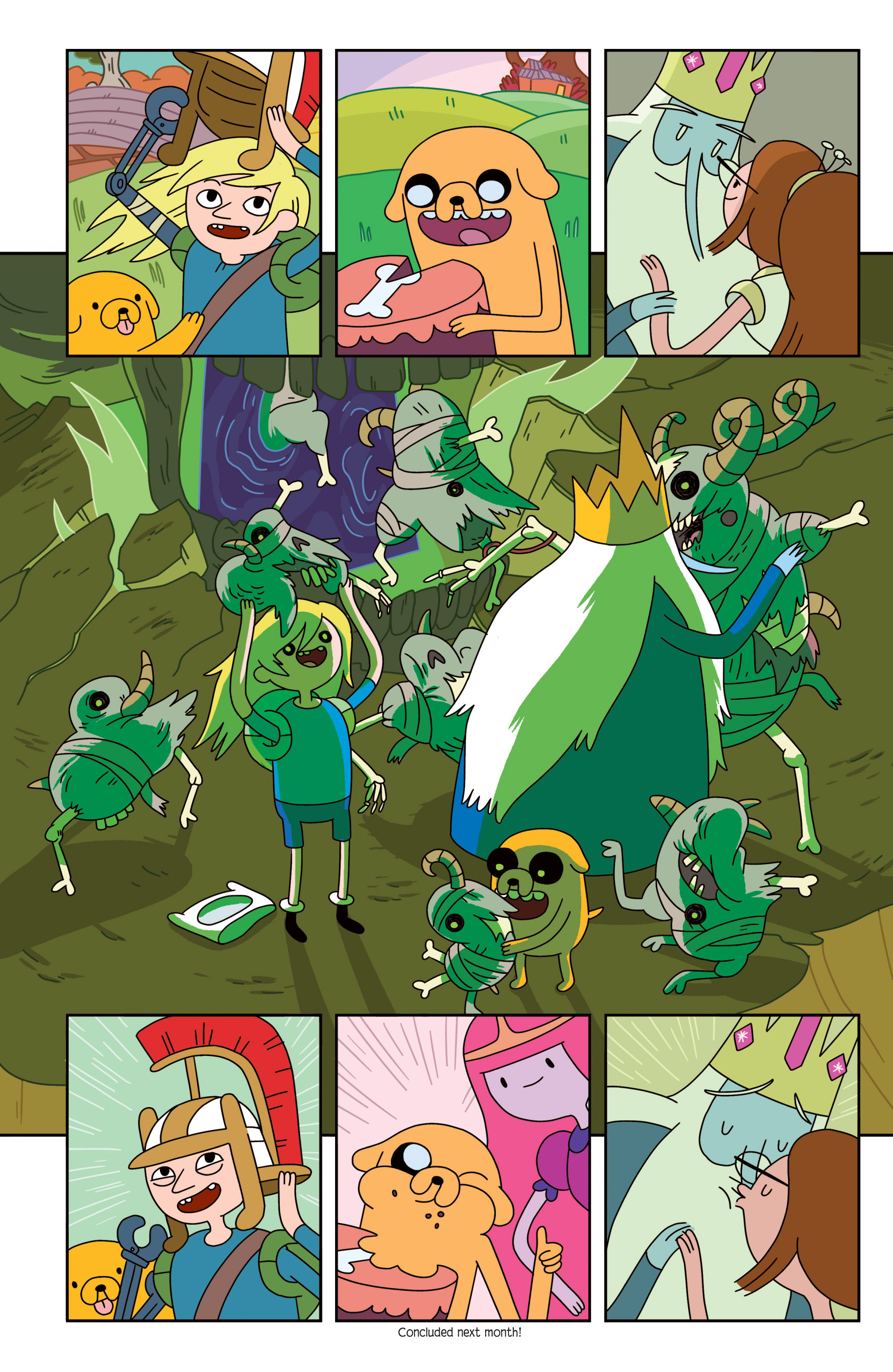 Read online Adventure Time comic -  Issue #18 - 22