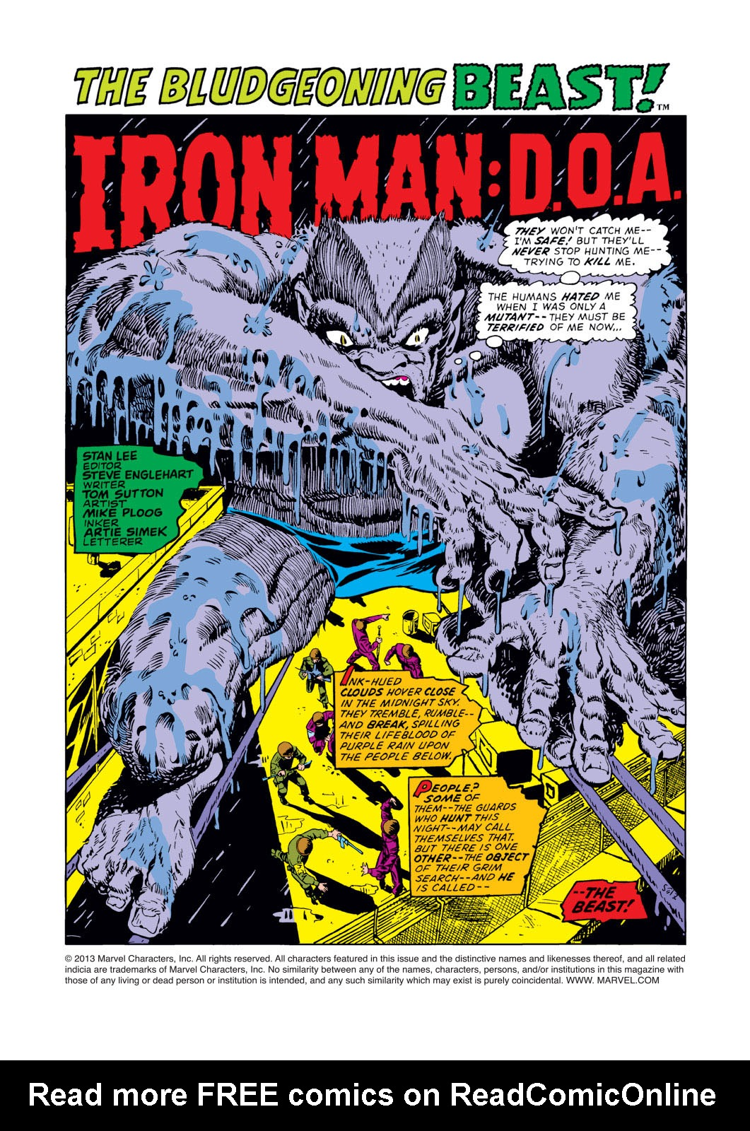 Read online Amazing Adventures (1970) comic -  Issue #12 - 2