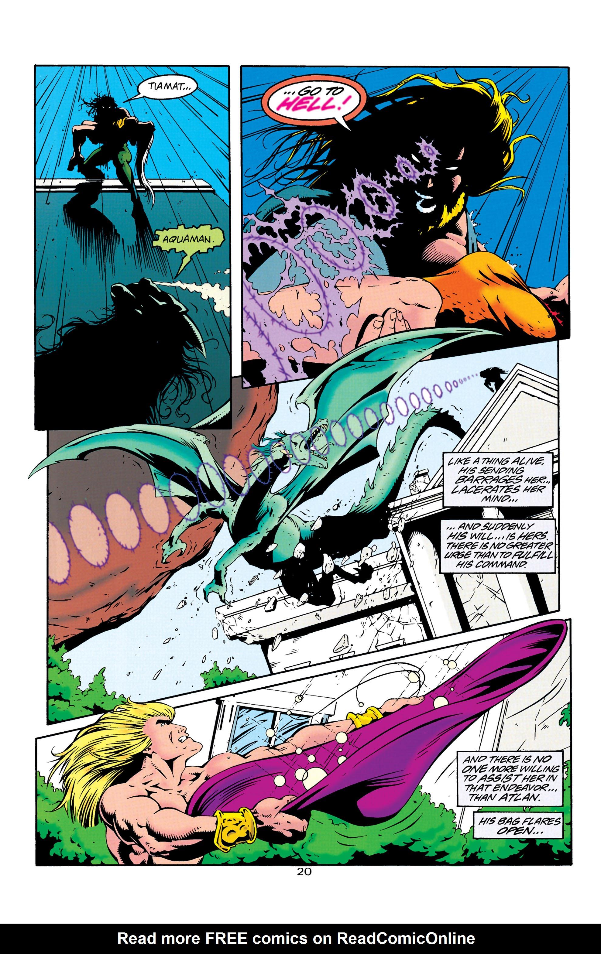 Read online Aquaman (1994) comic -  Issue #25 - 21
