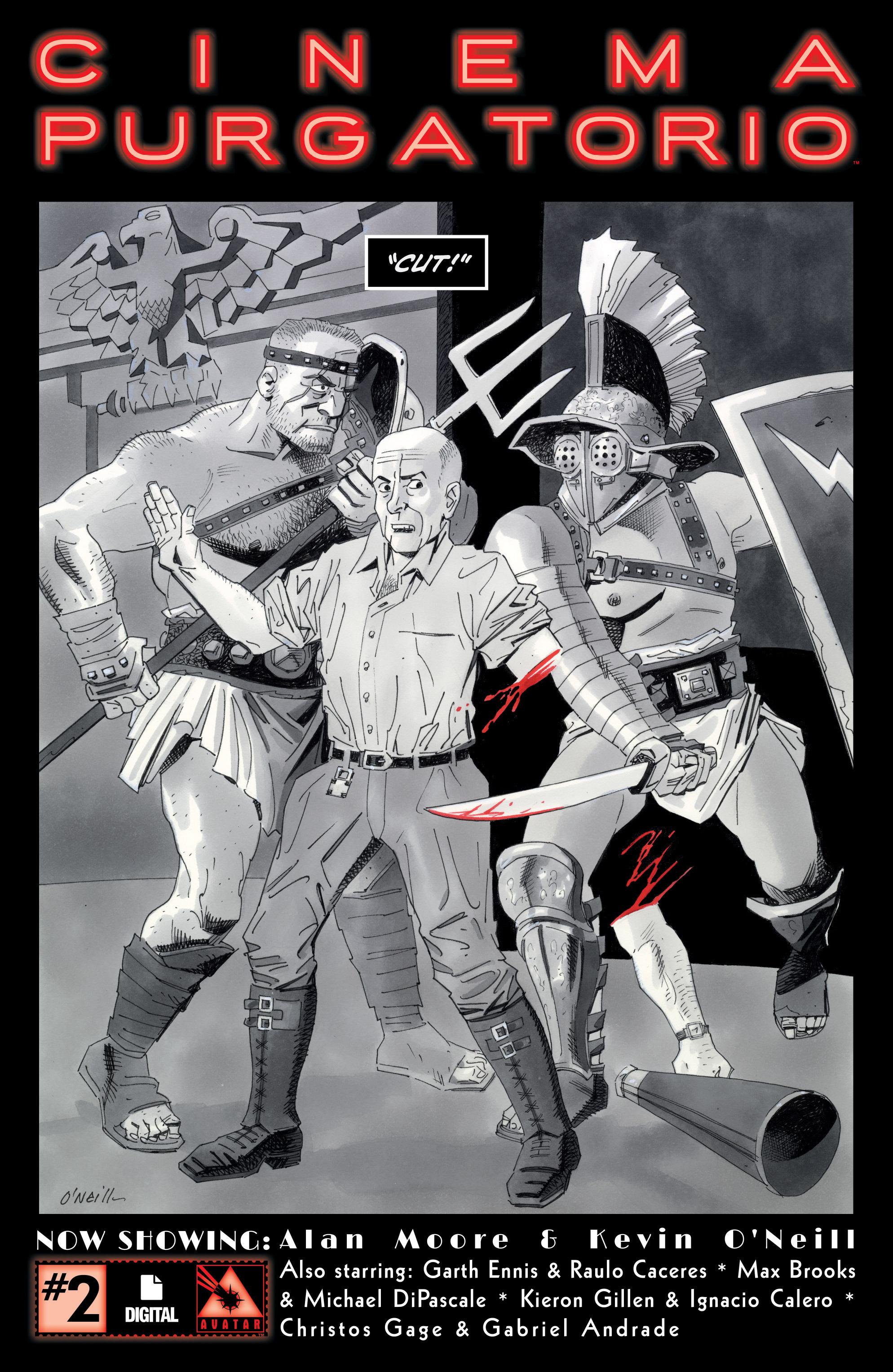 Read online Alan Moore's Cinema Purgatorio comic -  Issue #2 - 1