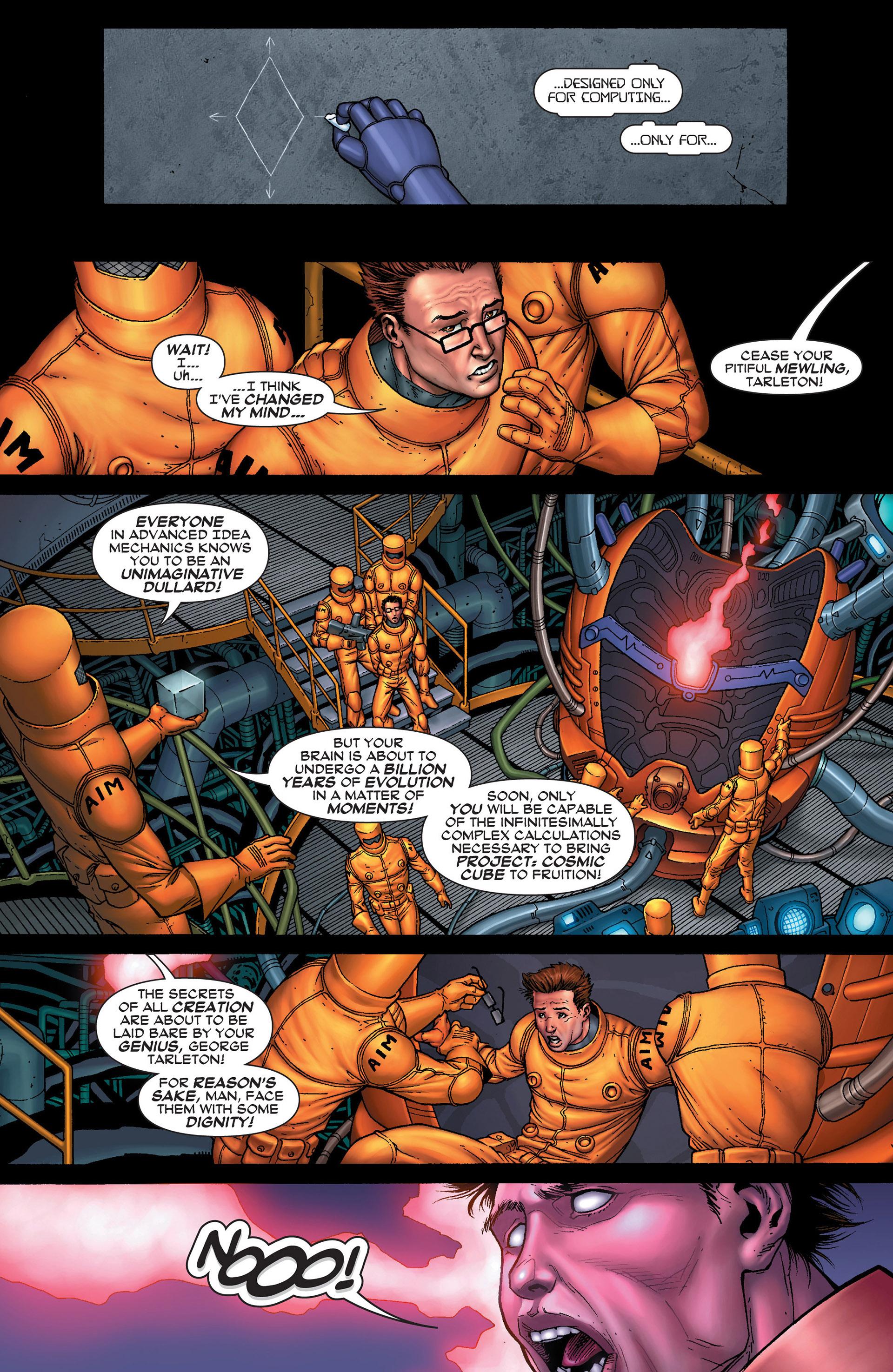 Read online Super-Villain Team-Up/MODOK's 11 comic -  Issue #1 - 3