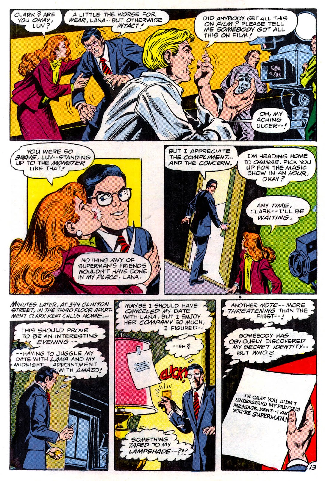 Read online Superman Special (1983) comic -  Issue #3 - 14