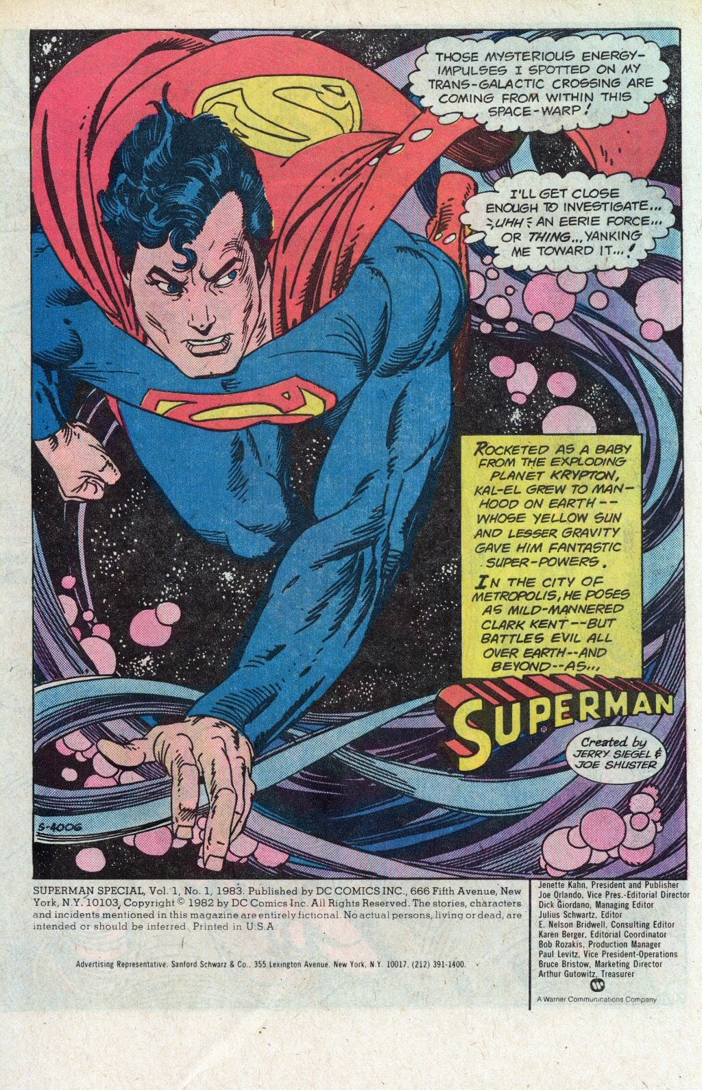 Read online Superman Special (1983) comic -  Issue #1 - 3