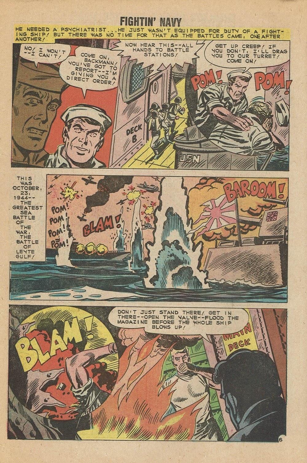 Read online Fightin' Navy comic -  Issue #95 - 18