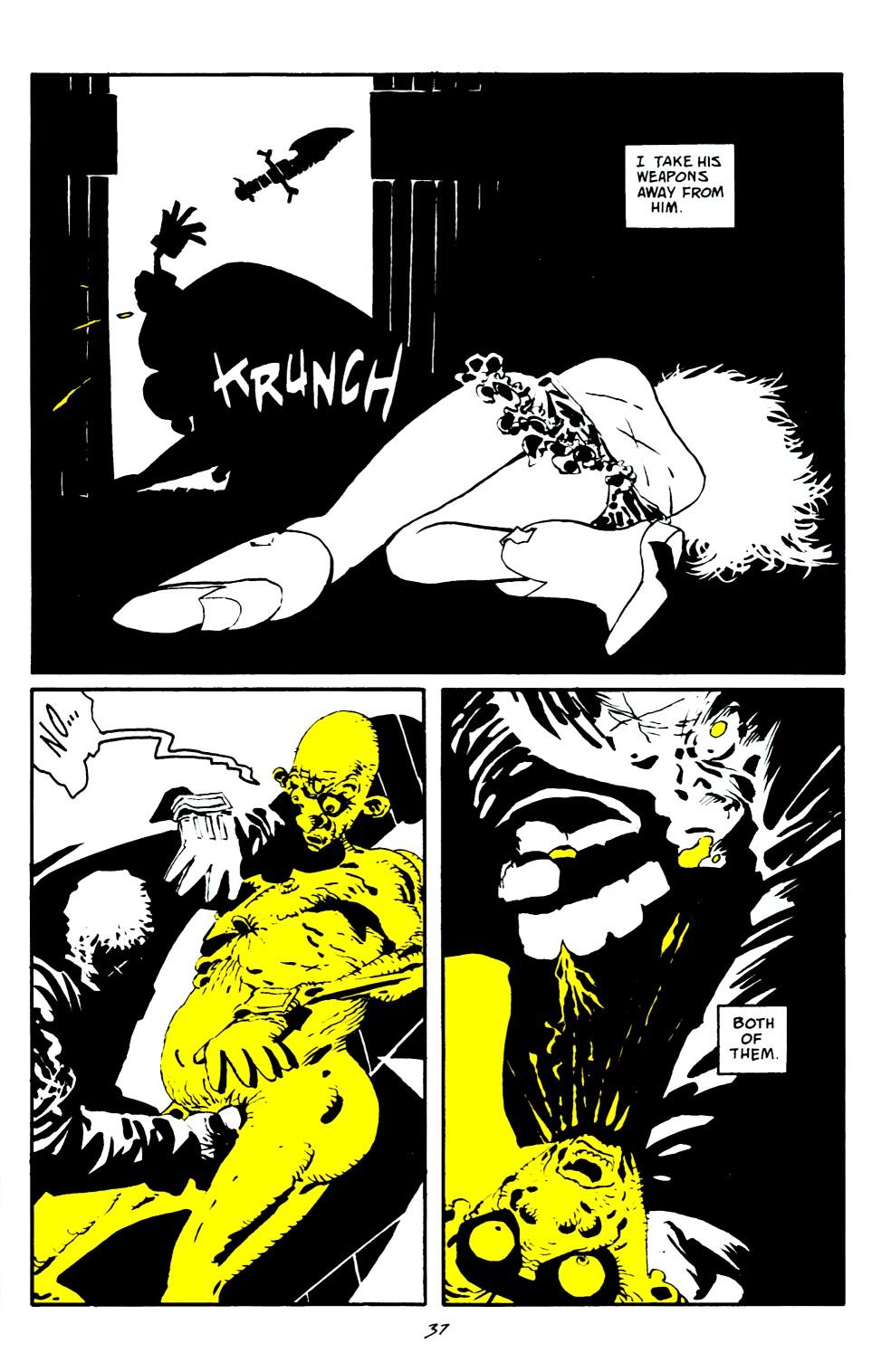 Read online Sin City: That Yellow Bastard comic -  Issue #6 - 37
