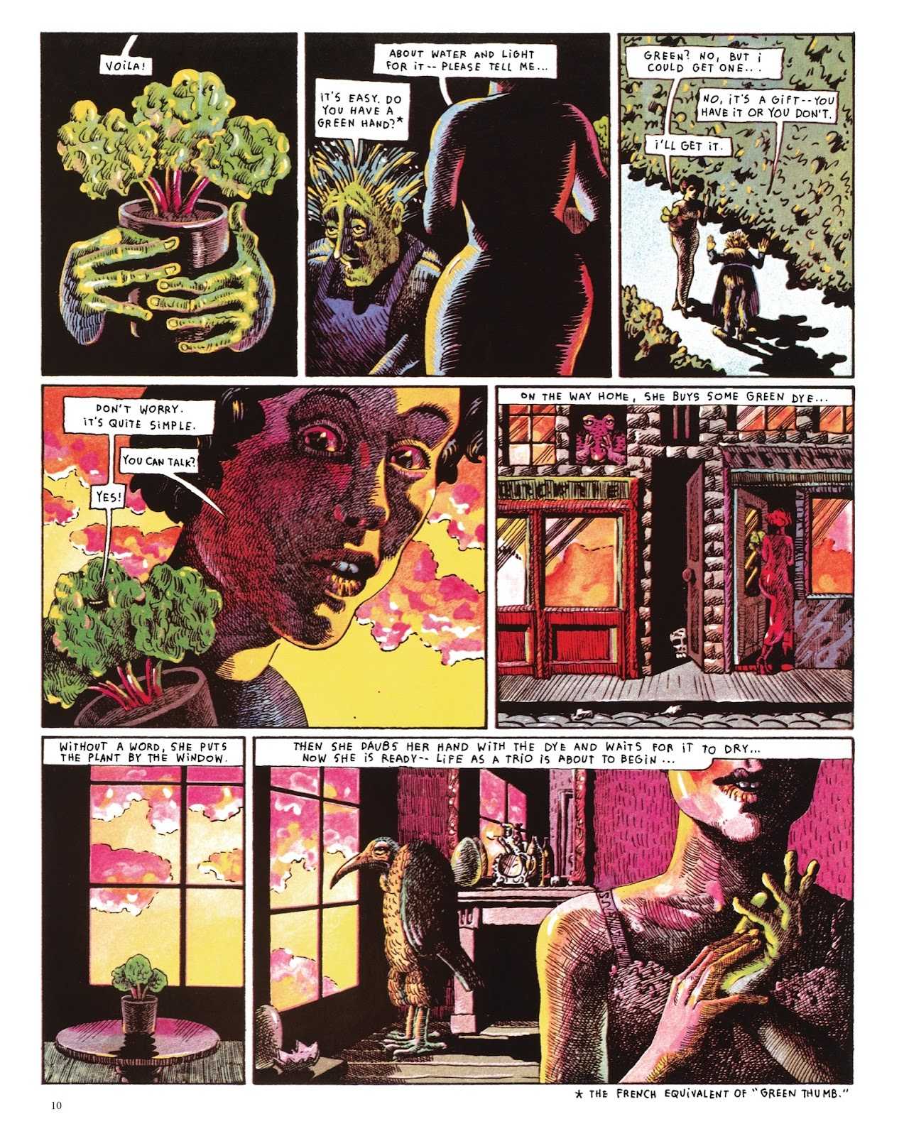 Read online The Green Hand and Other Stories comic -  Issue # TPB - 9