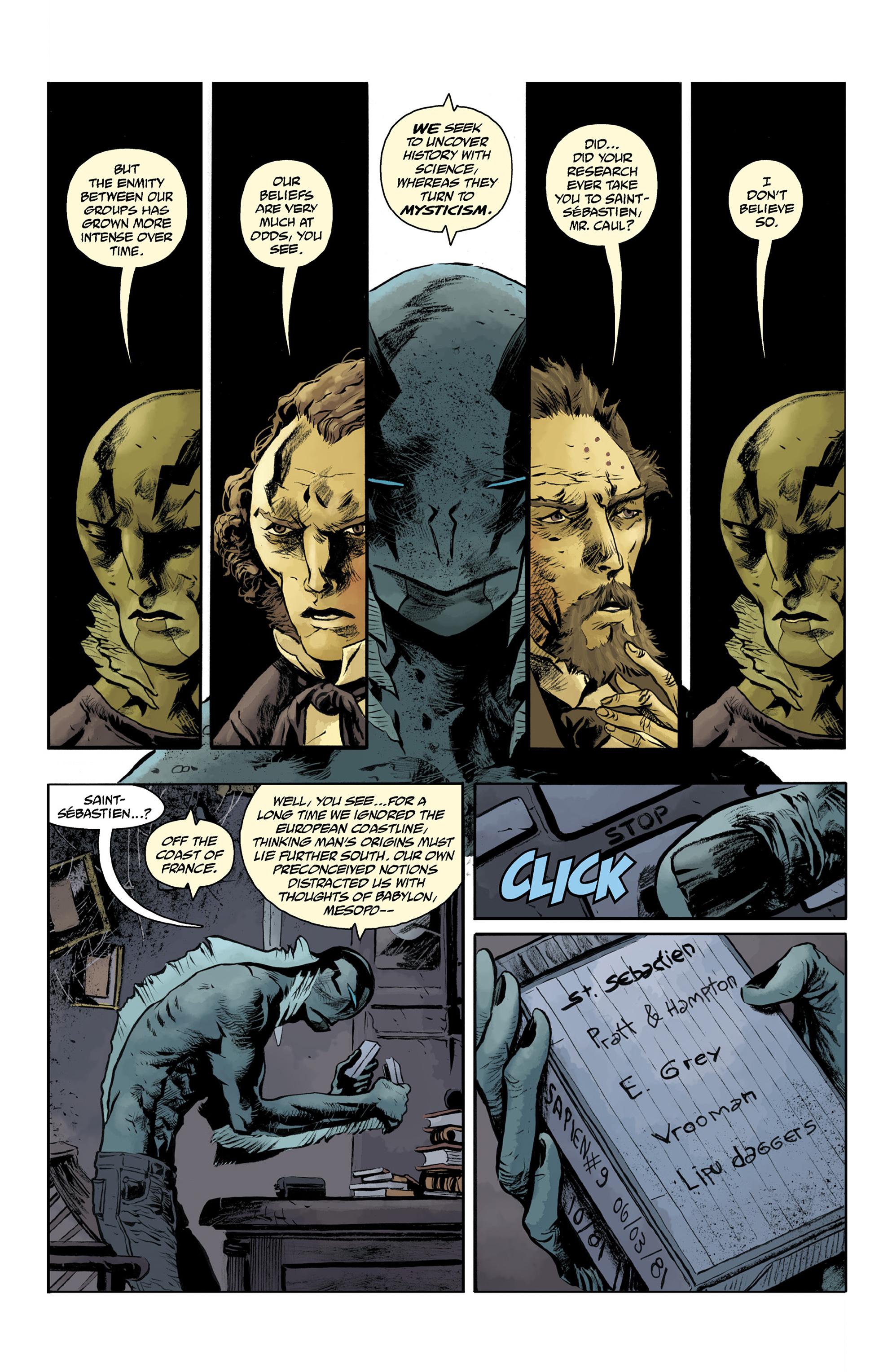 Read online Abe Sapien comic -  Issue #32 - 19