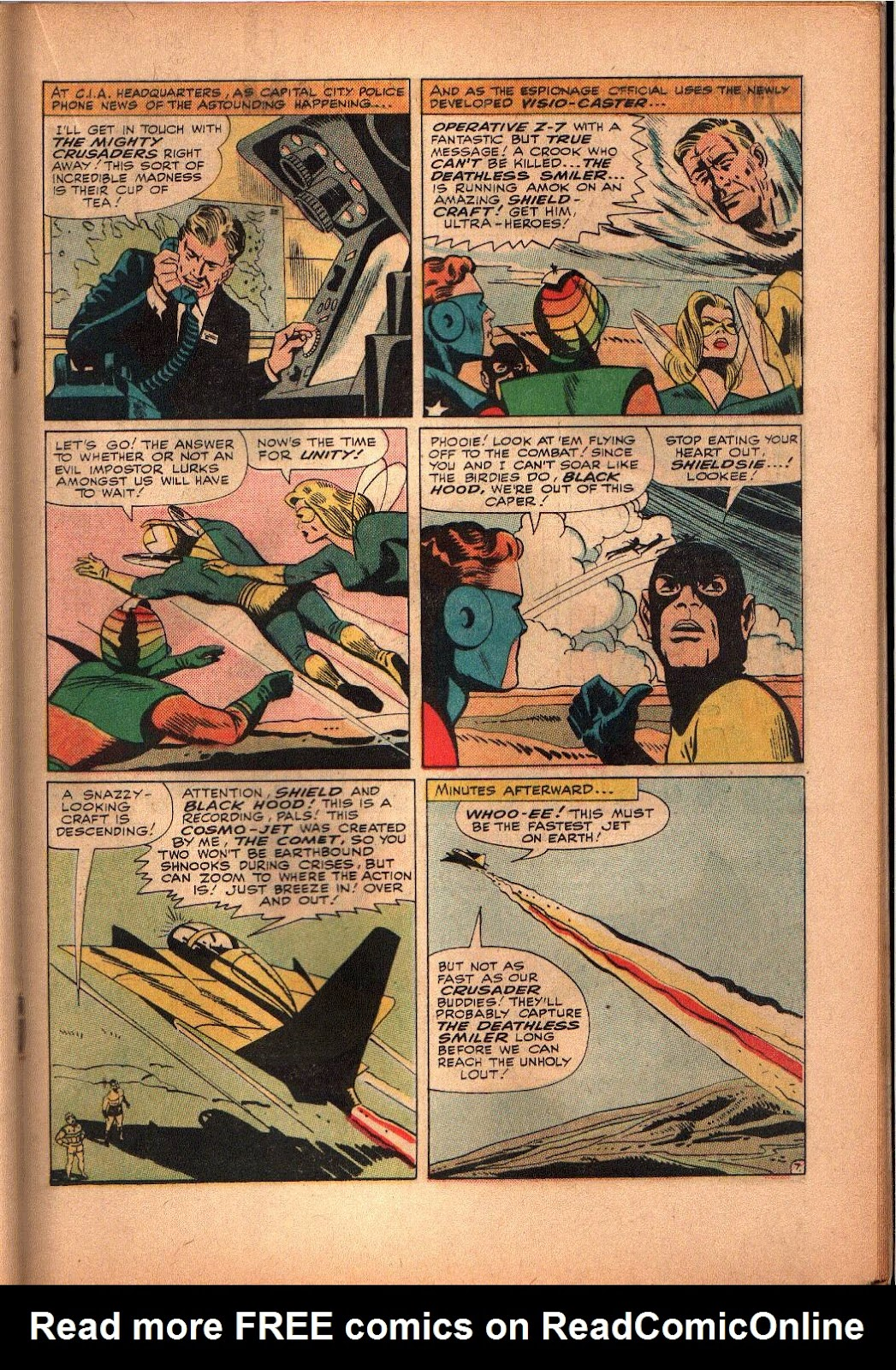 The Mighty Crusaders (1965) Issue #3 #3 - English 16
