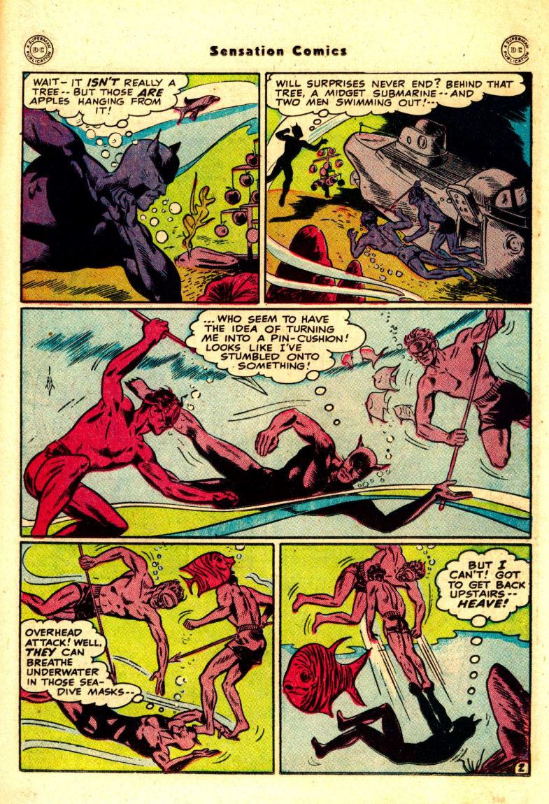 Read online Sensation (Mystery) Comics comic -  Issue #88 - 16