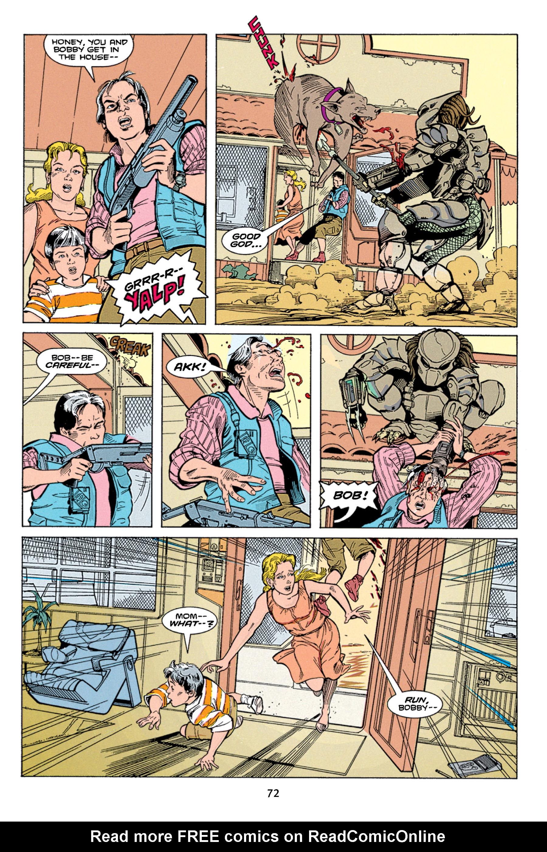 Read online Aliens vs. Predator Omnibus comic -  Issue # _TPB 1 Part 1 - 72