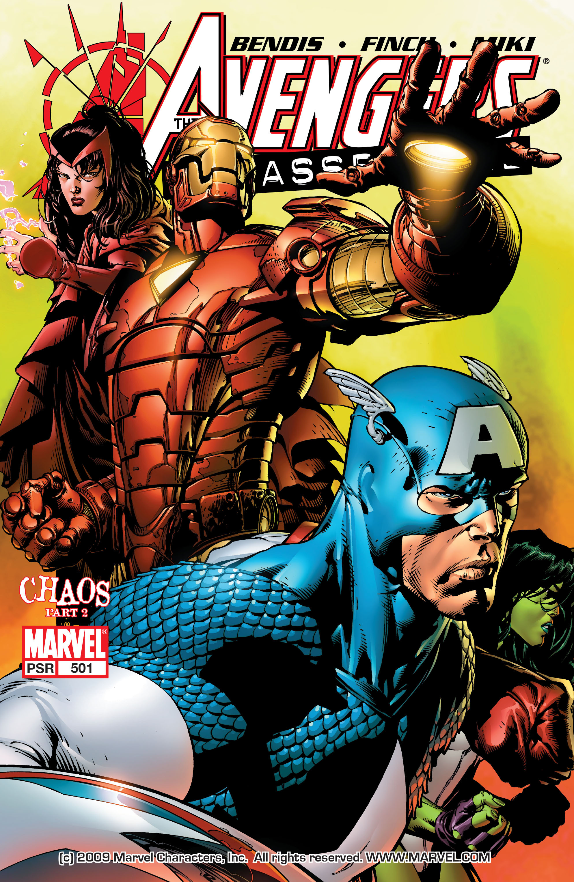 Read online Avengers (1998) comic -  Issue #501 - 1