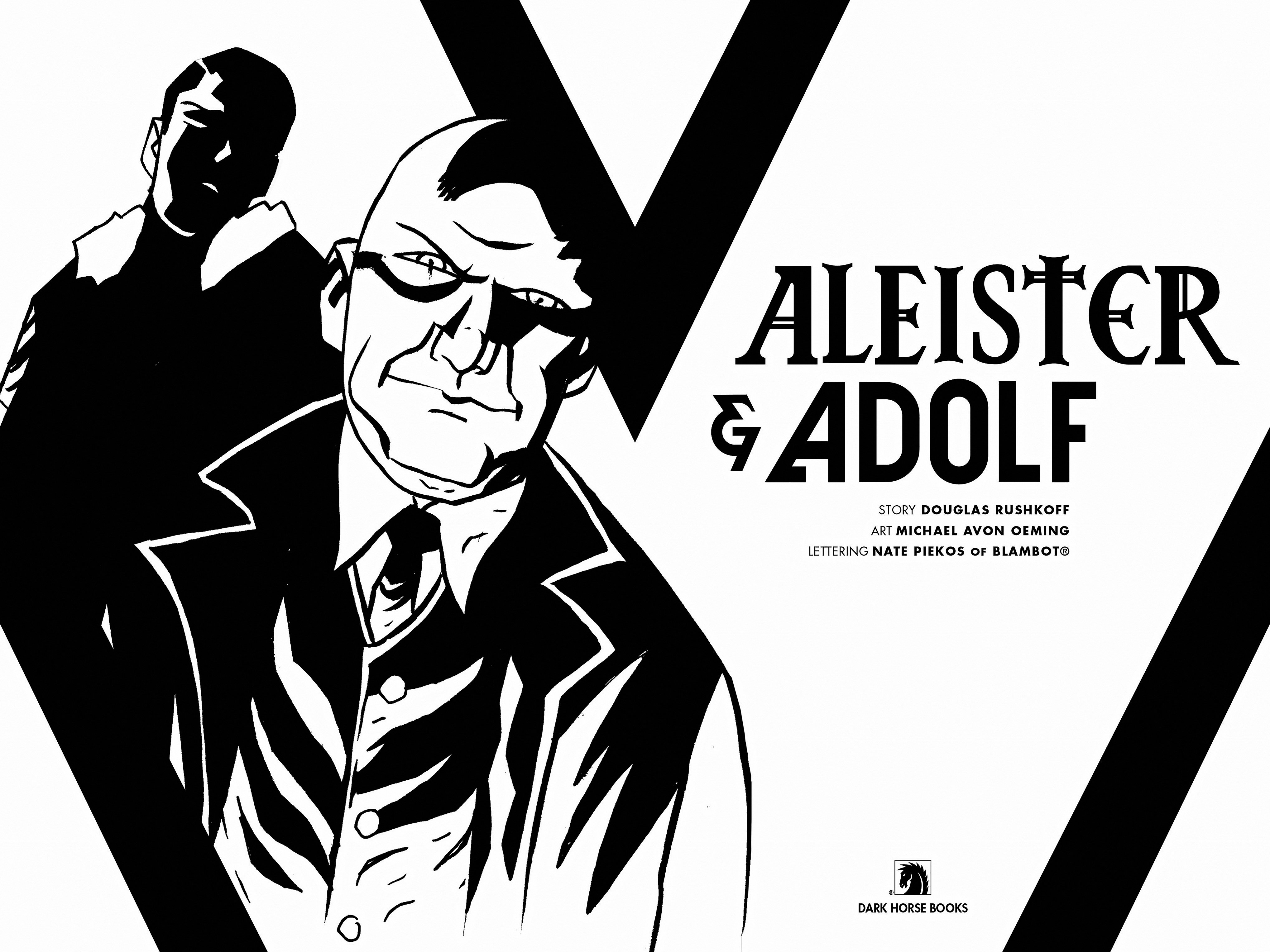 Read online Aleister & Adolf comic -  Issue # TPB - 4