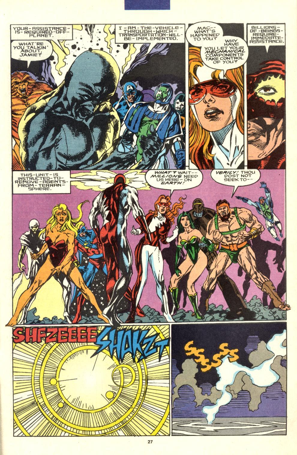 Read online Alpha Flight (1983) comic -  Issue #99 - 22
