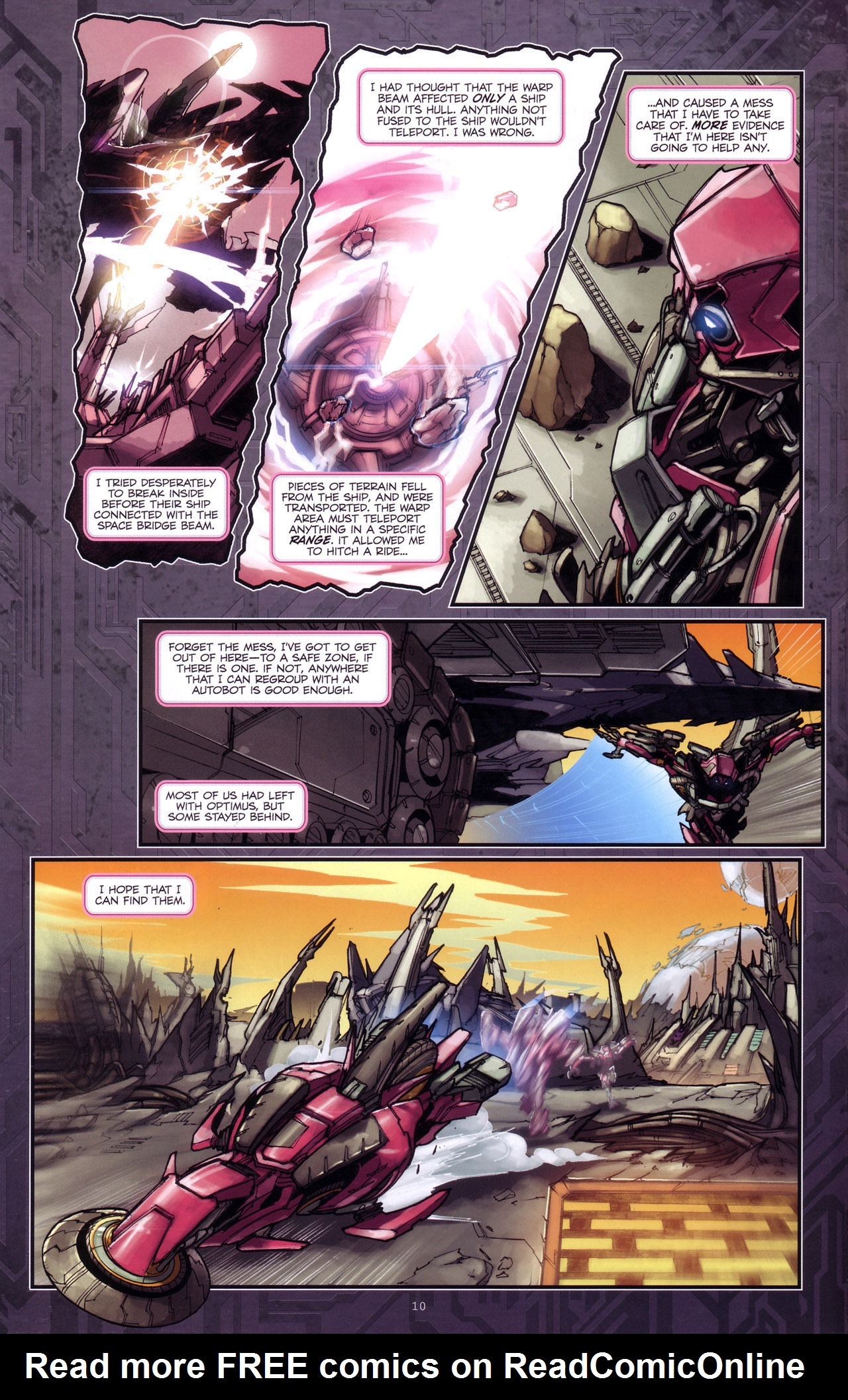Read online Transformers: The Reign of Starscream comic -  Issue #4 - 12
