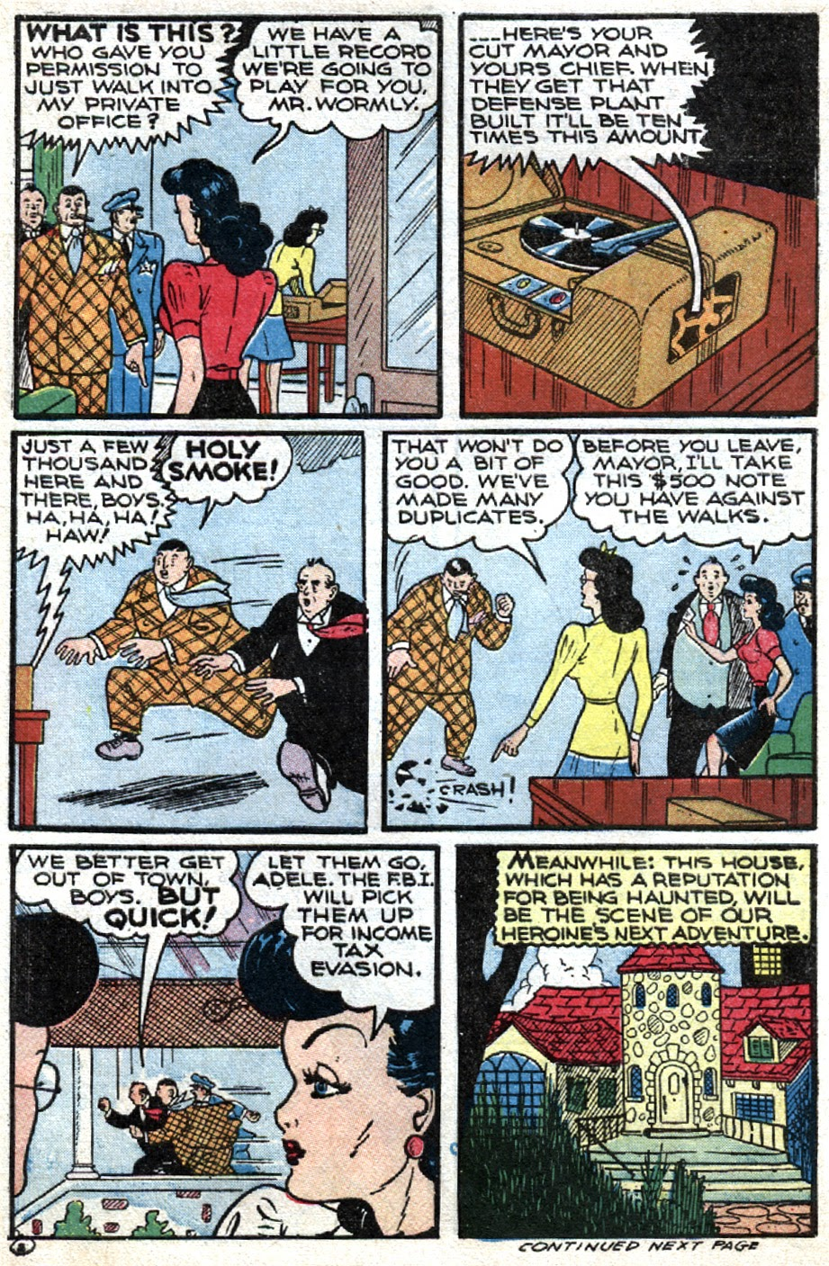 Read online Famous Funnies comic -  Issue #121 - 12