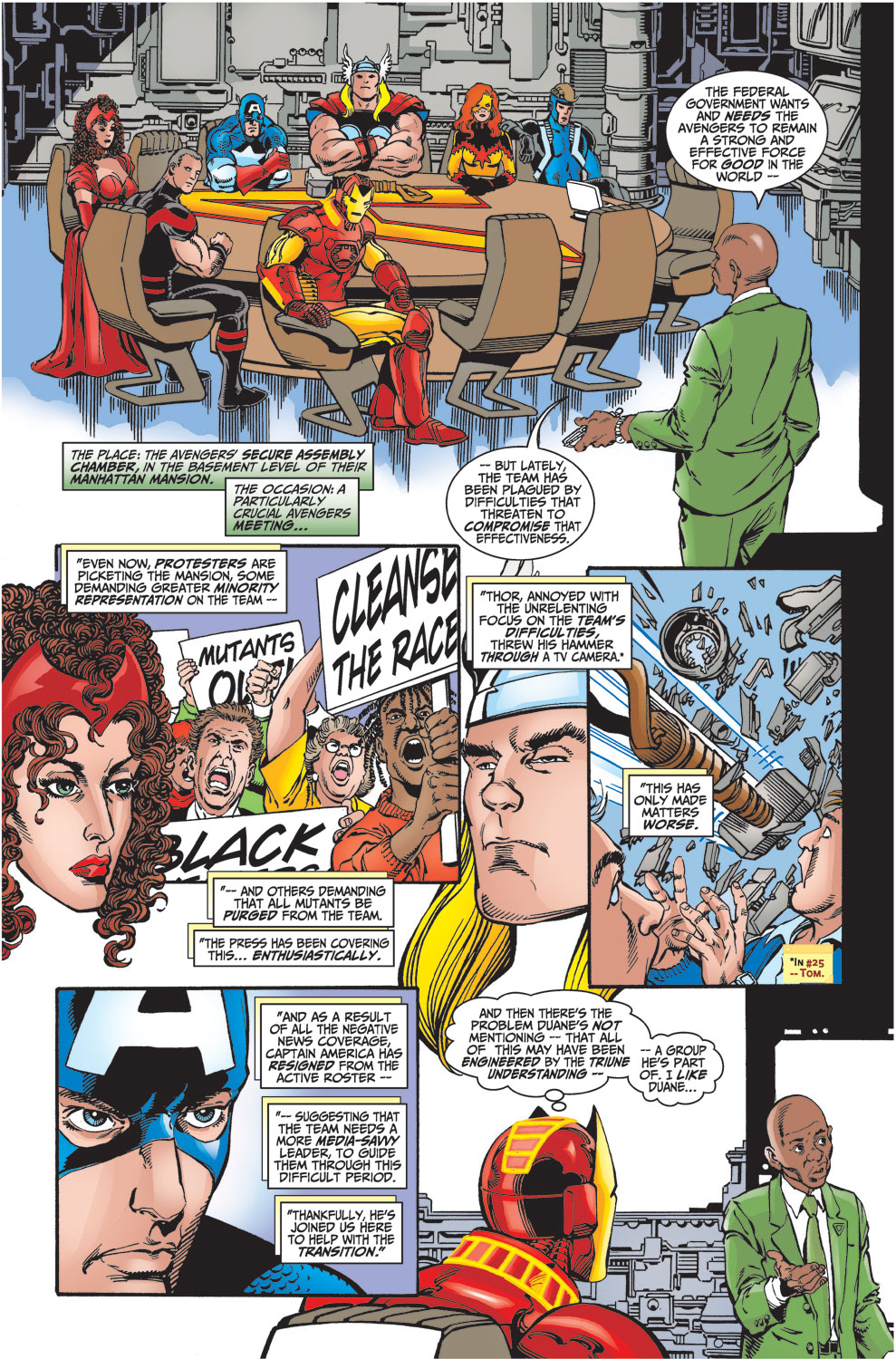 Read online Avengers (1998) comic -  Issue #27 - 3