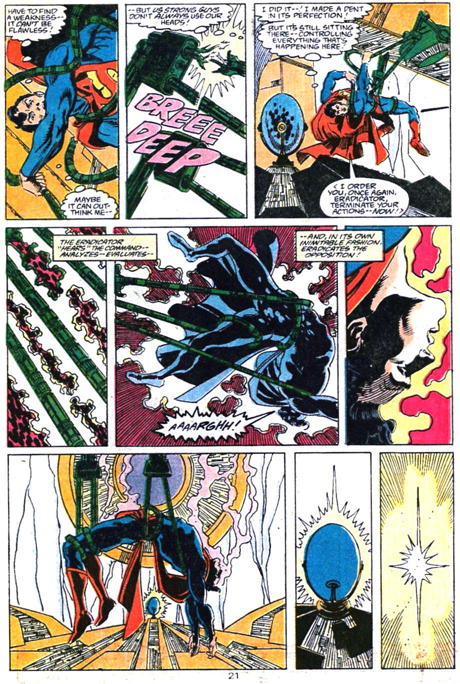 Read online Adventures of Superman (1987) comic -  Issue #460 - 22