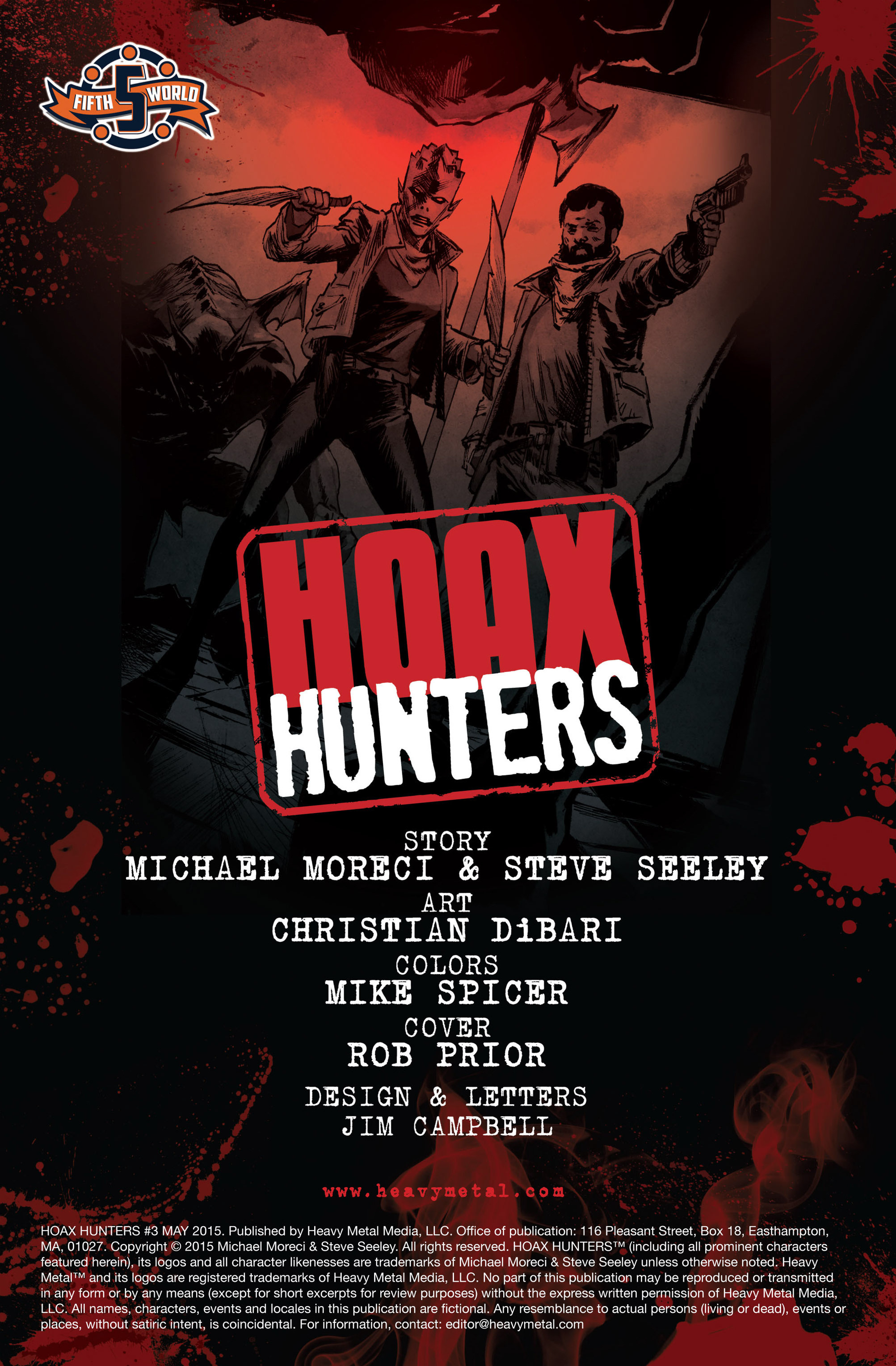 Read online Hoax Hunters (2015) comic -  Issue #3 - 2