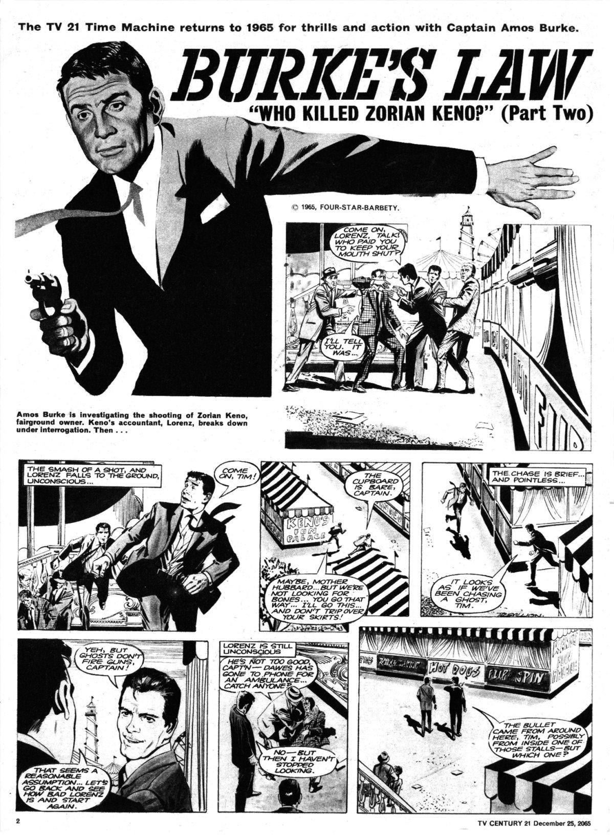 Read online TV Century 21 (TV 21) comic -  Issue #49 - 2
