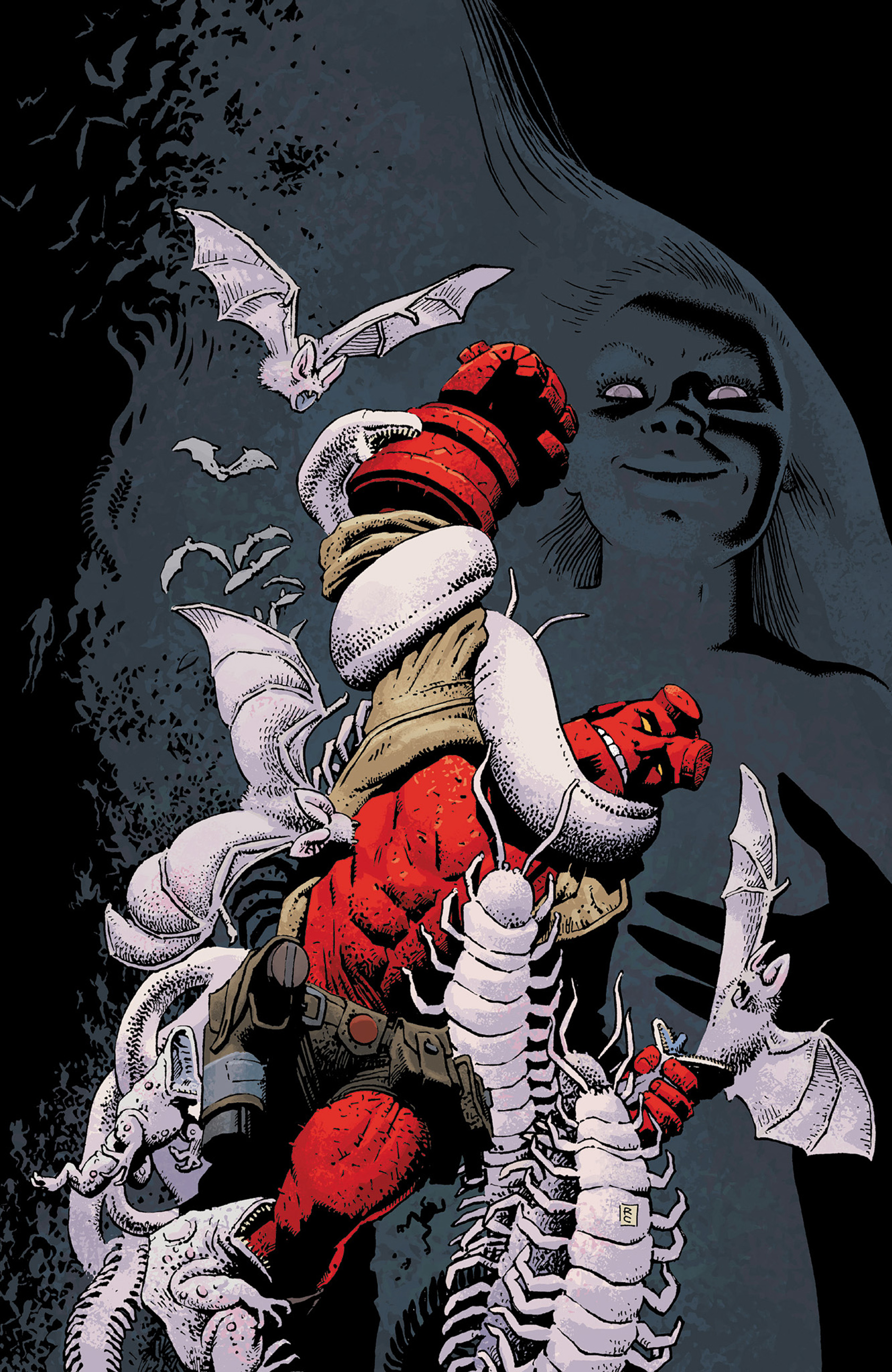 Read online Hellboy: The Crooked Man and Others comic -  Issue # TPB - 154