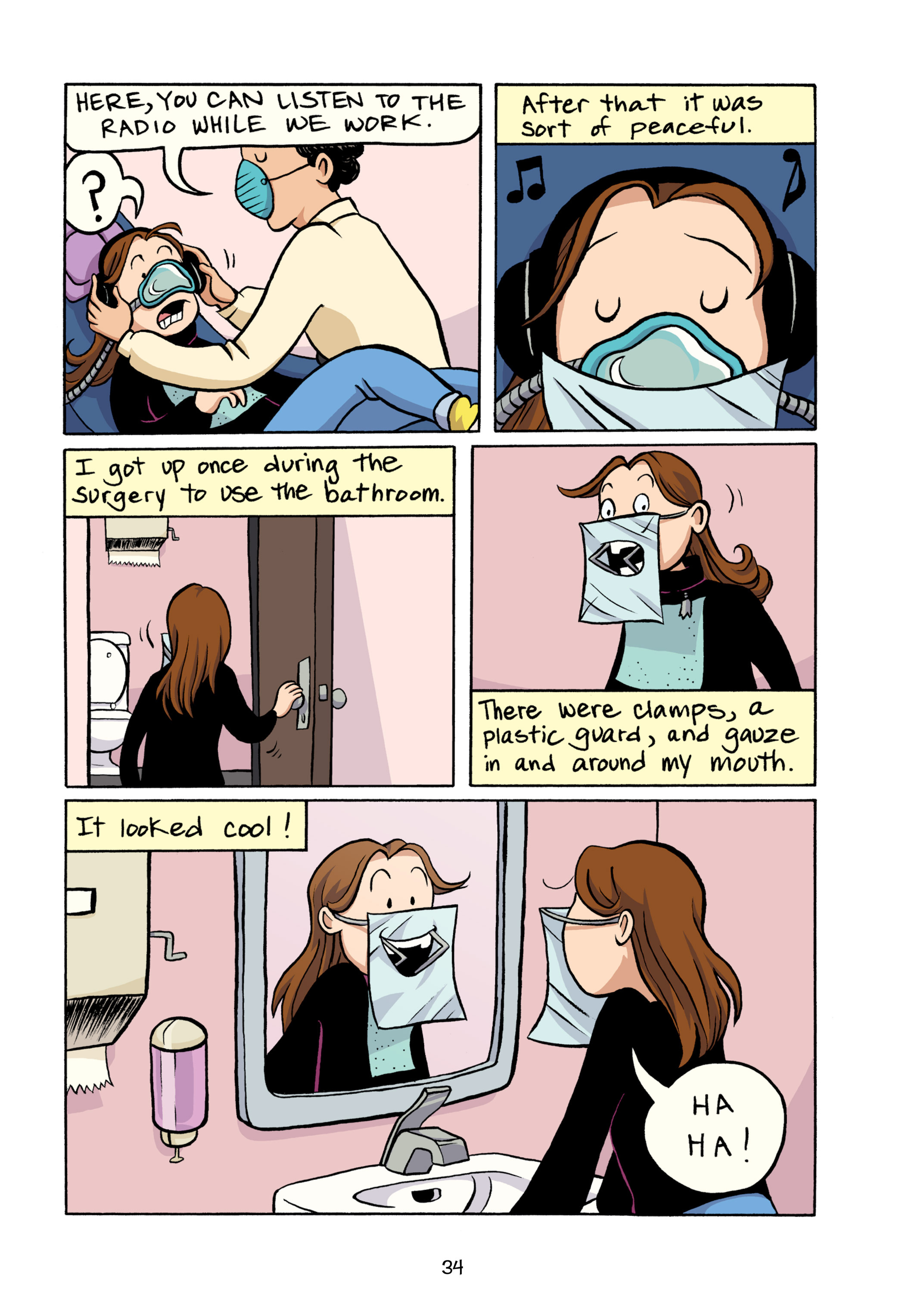 Read online Smile comic -  Issue # TPB - 40