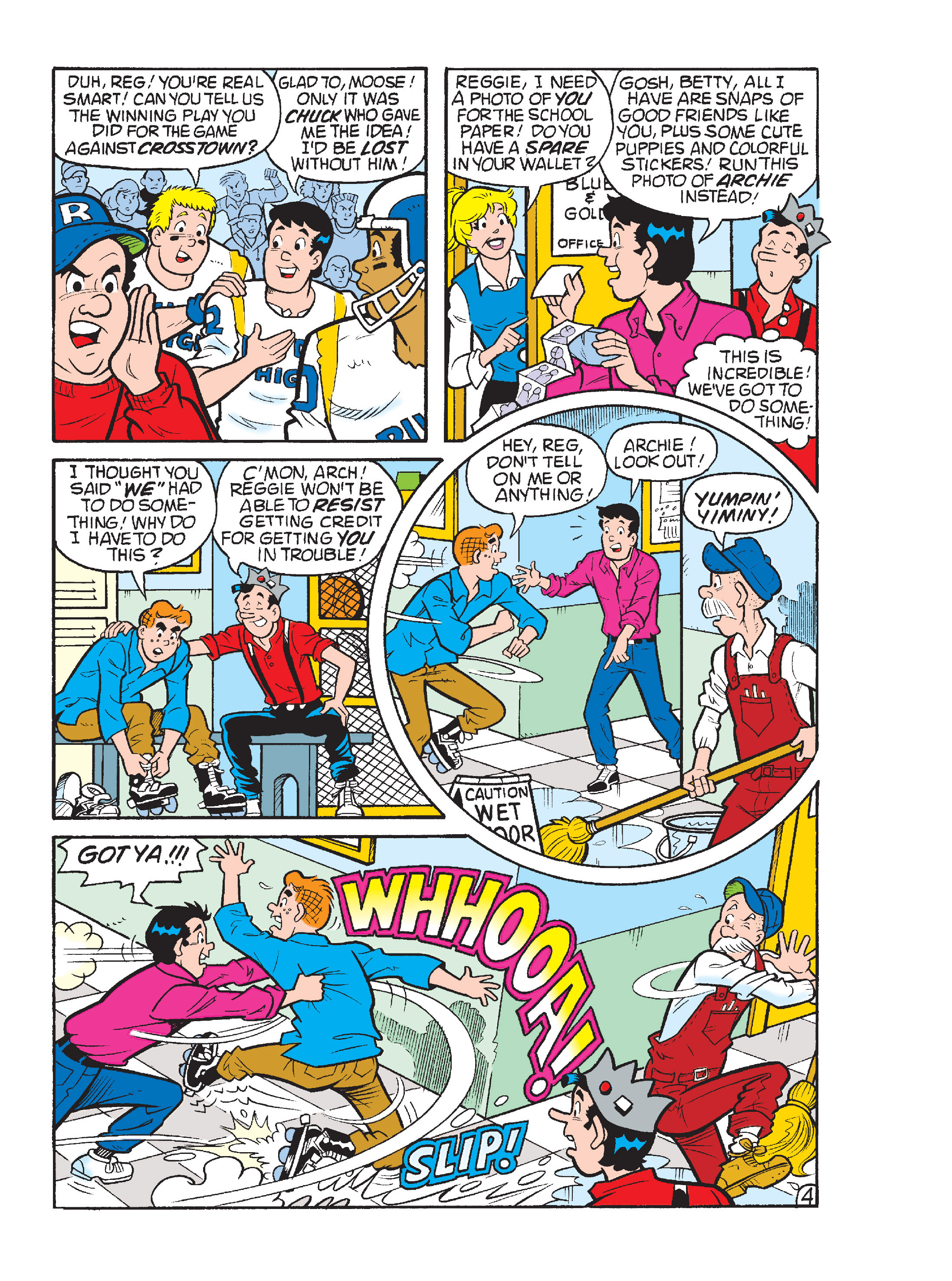 Read online Archie's Funhouse Double Digest comic -  Issue #17 - 149