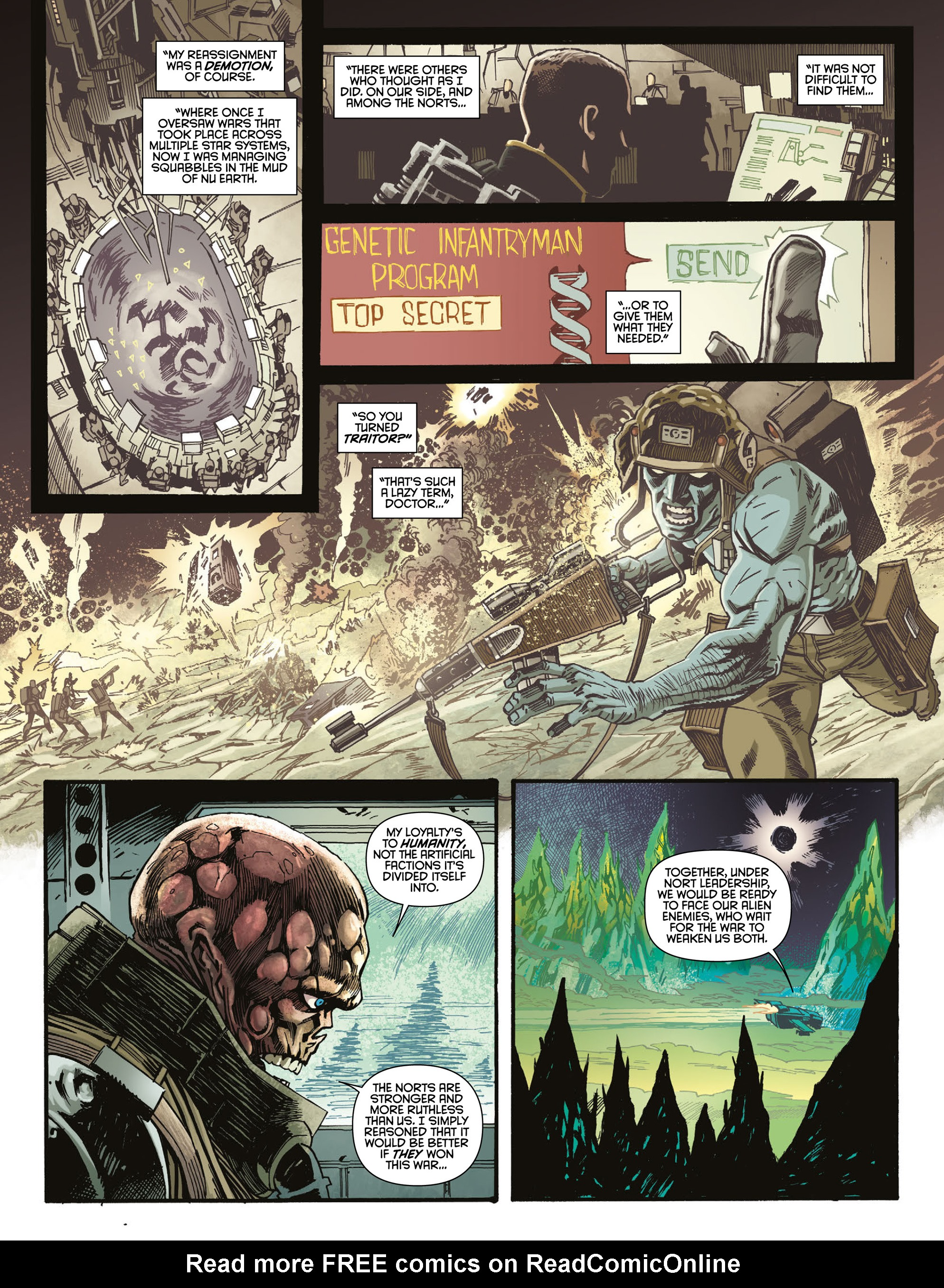 Read online 2000 AD comic -  Issue #2004 - 17