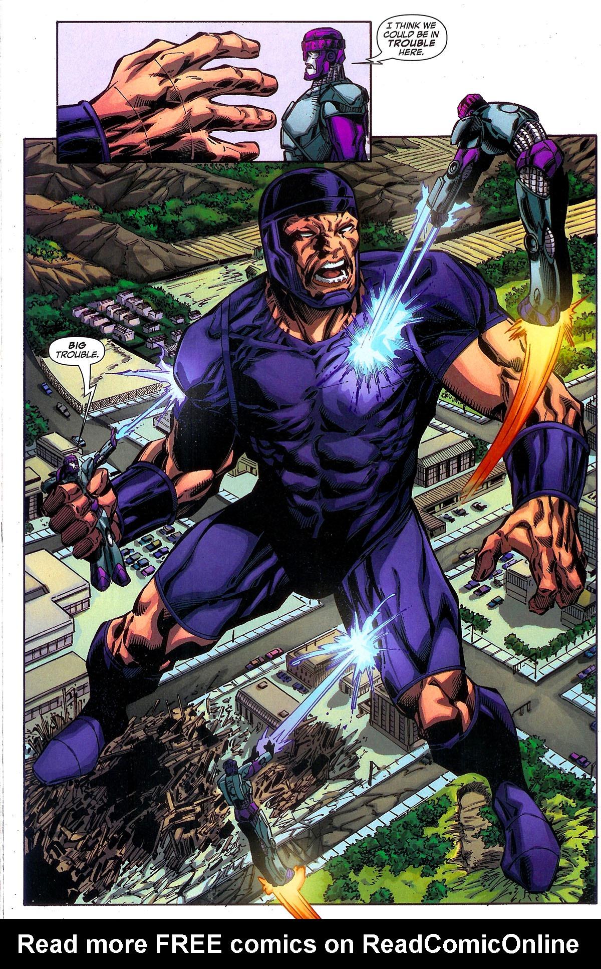 Read online Sentinel Squad O*N*E comic -  Issue #2 - 19