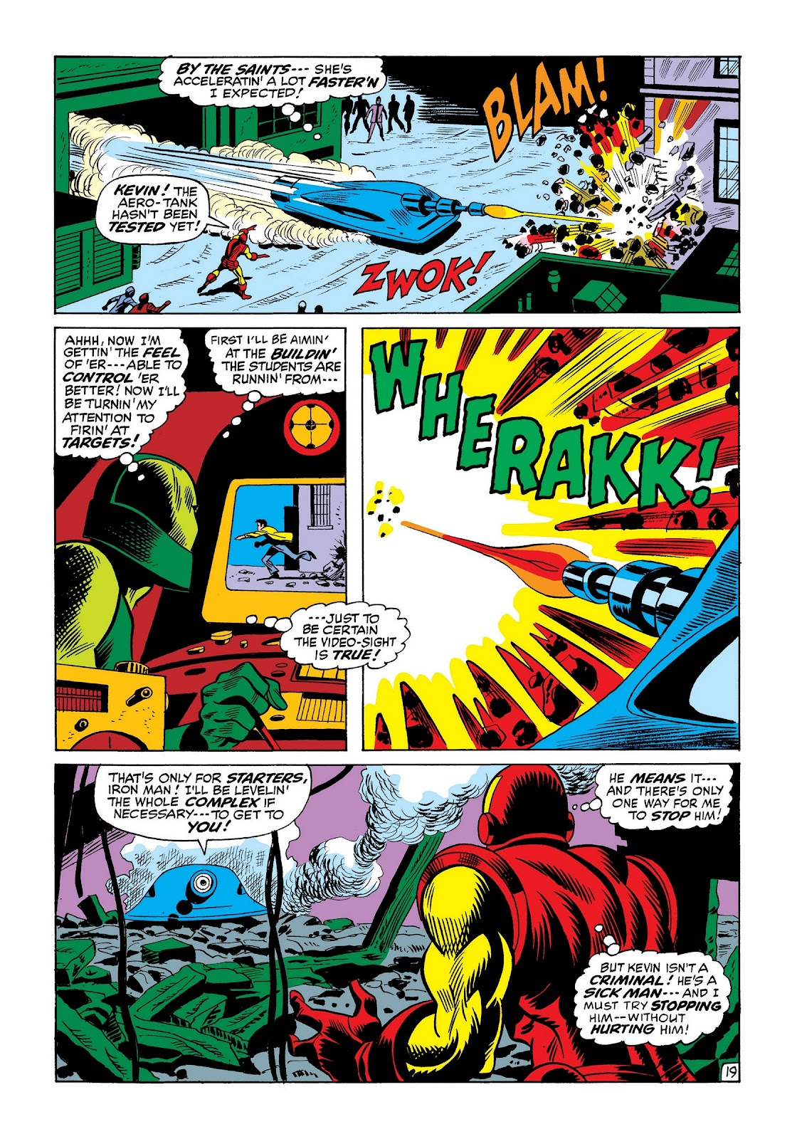 Read online Marvel Masterworks: The Invincible Iron Man comic -  Issue # TPB 8 (Part 2) - 63