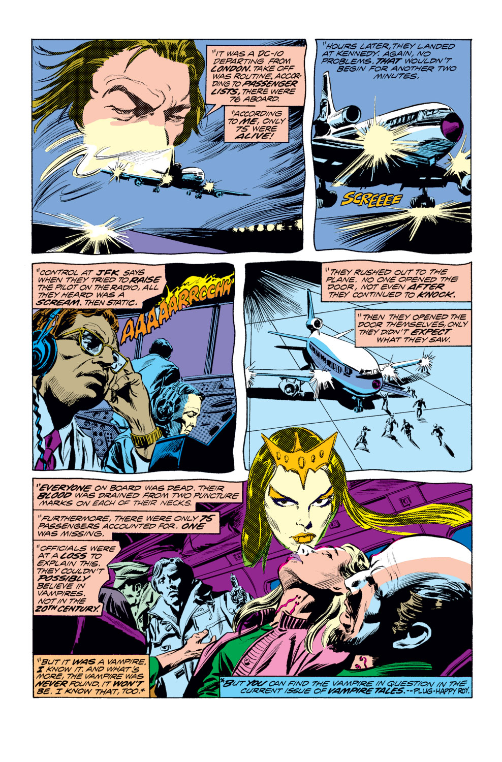 Tomb of Dracula (1972) issue 25 - Page 7