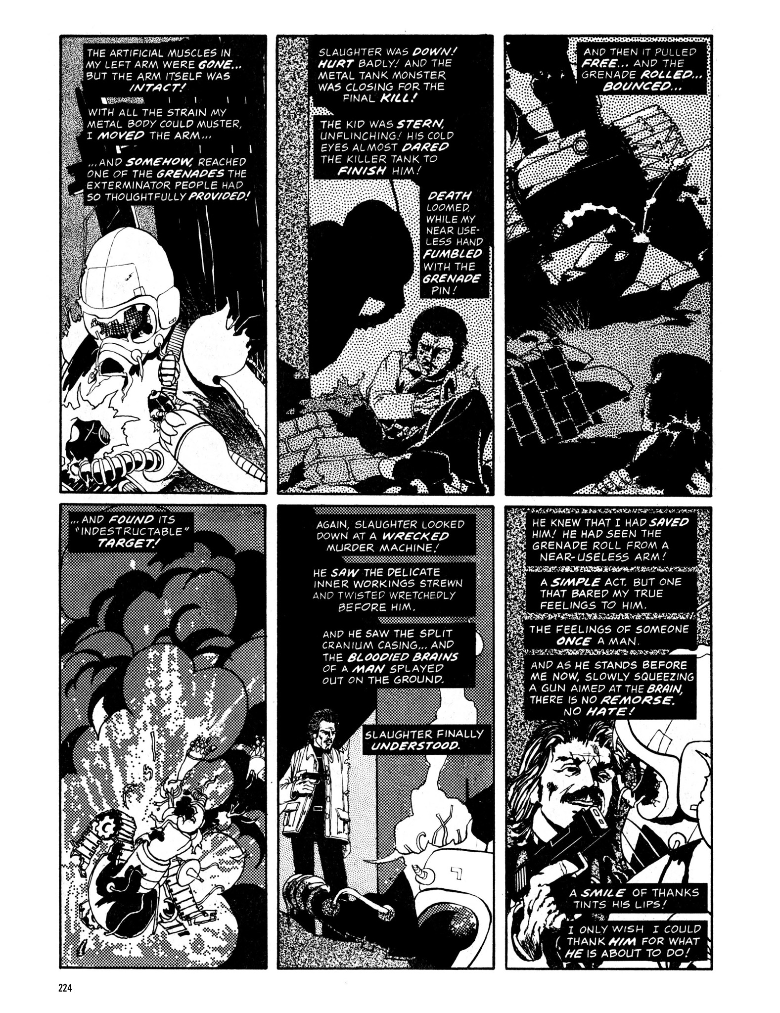 Read online Eerie Archives comic -  Issue # TPB 13 - 225