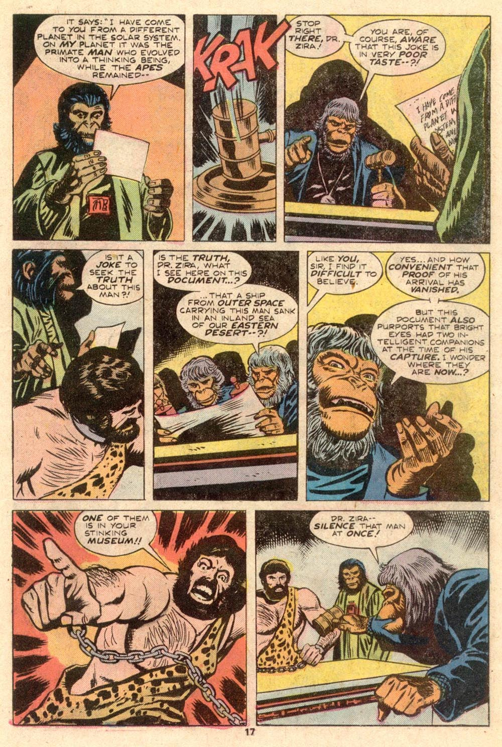 Read online Adventures on the Planet of the Apes comic -  Issue #4 - 12