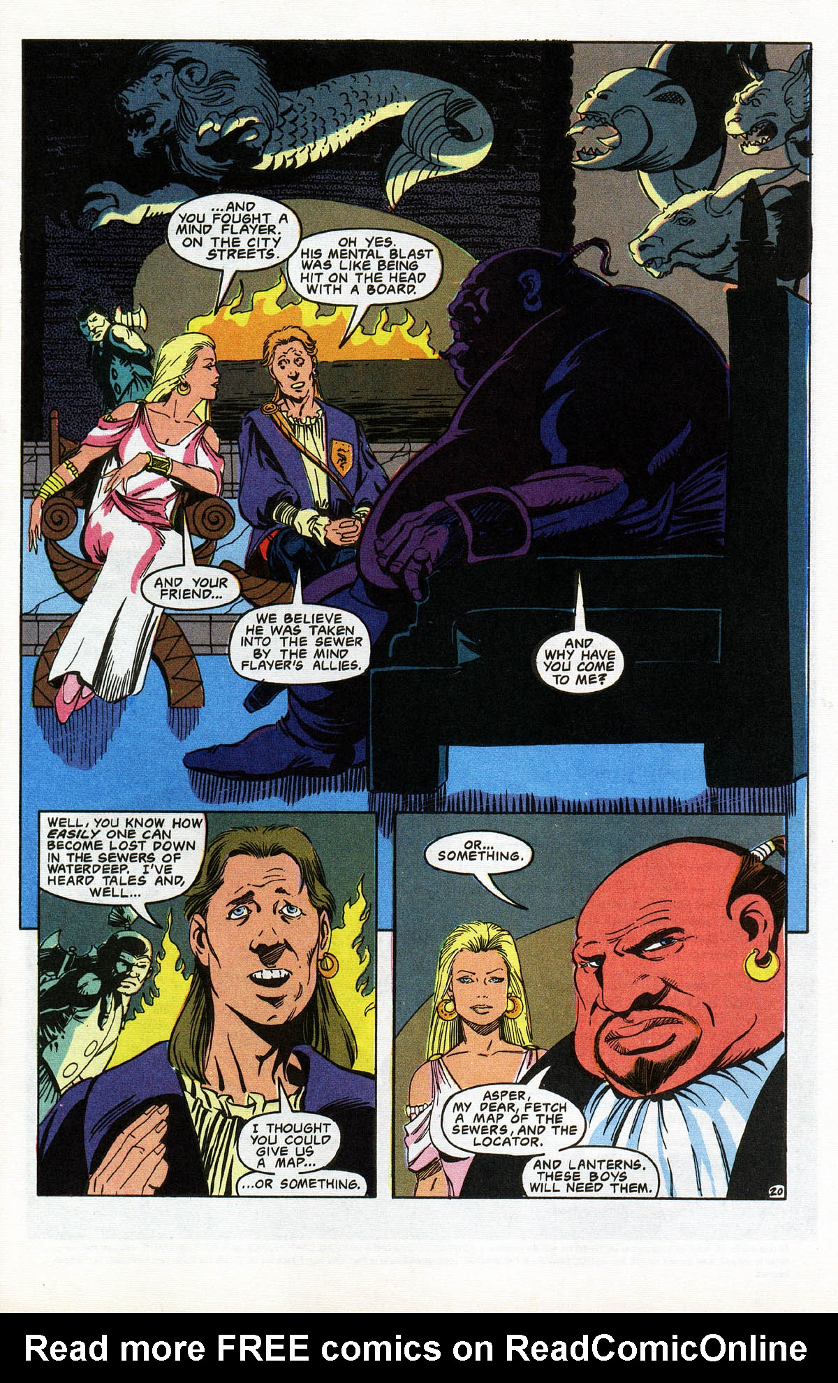 Read online Advanced Dungeons & Dragons comic -  Issue #10 - 24