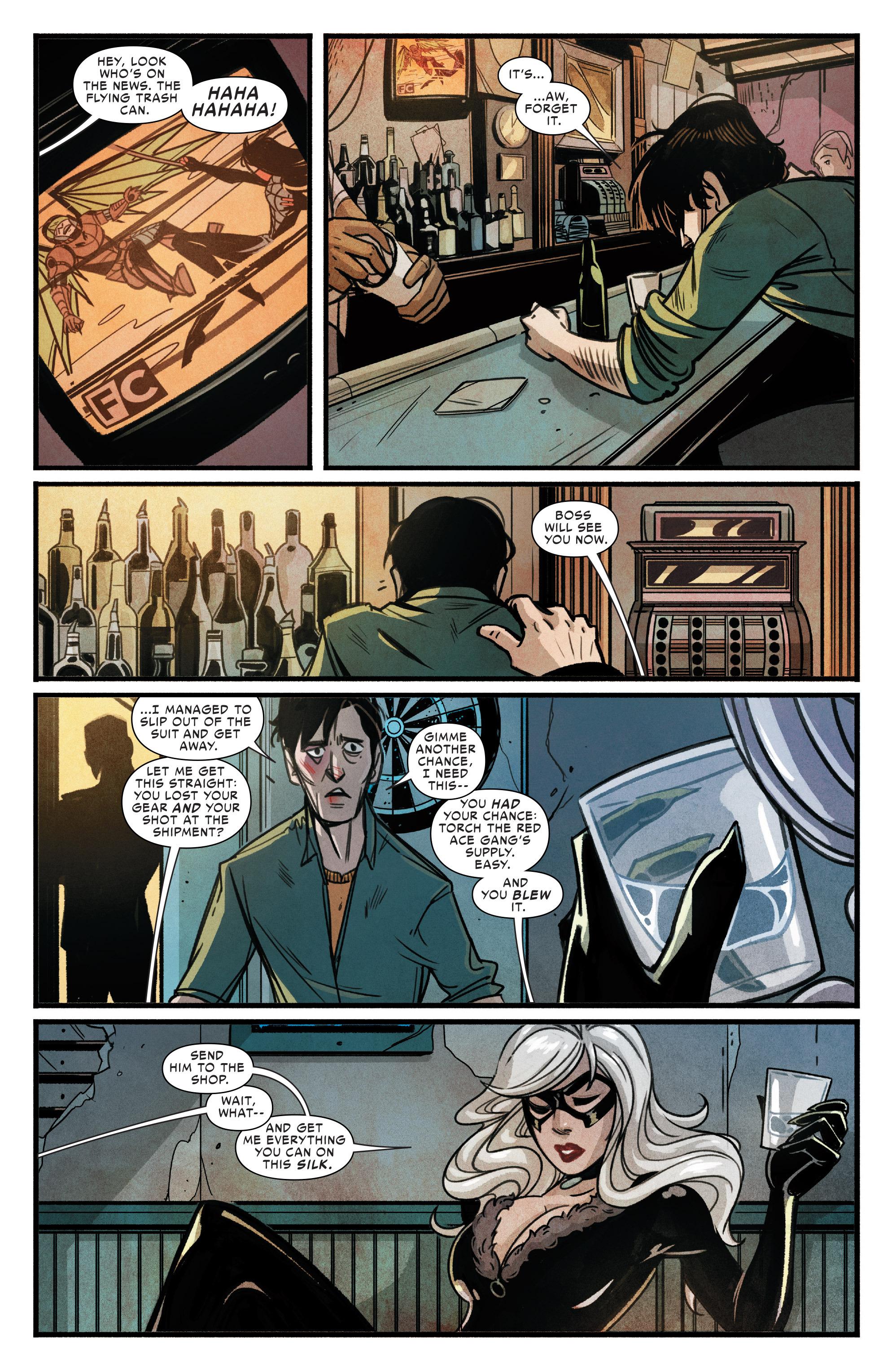 Read online Silk (2015) comic -  Issue #1 - 17