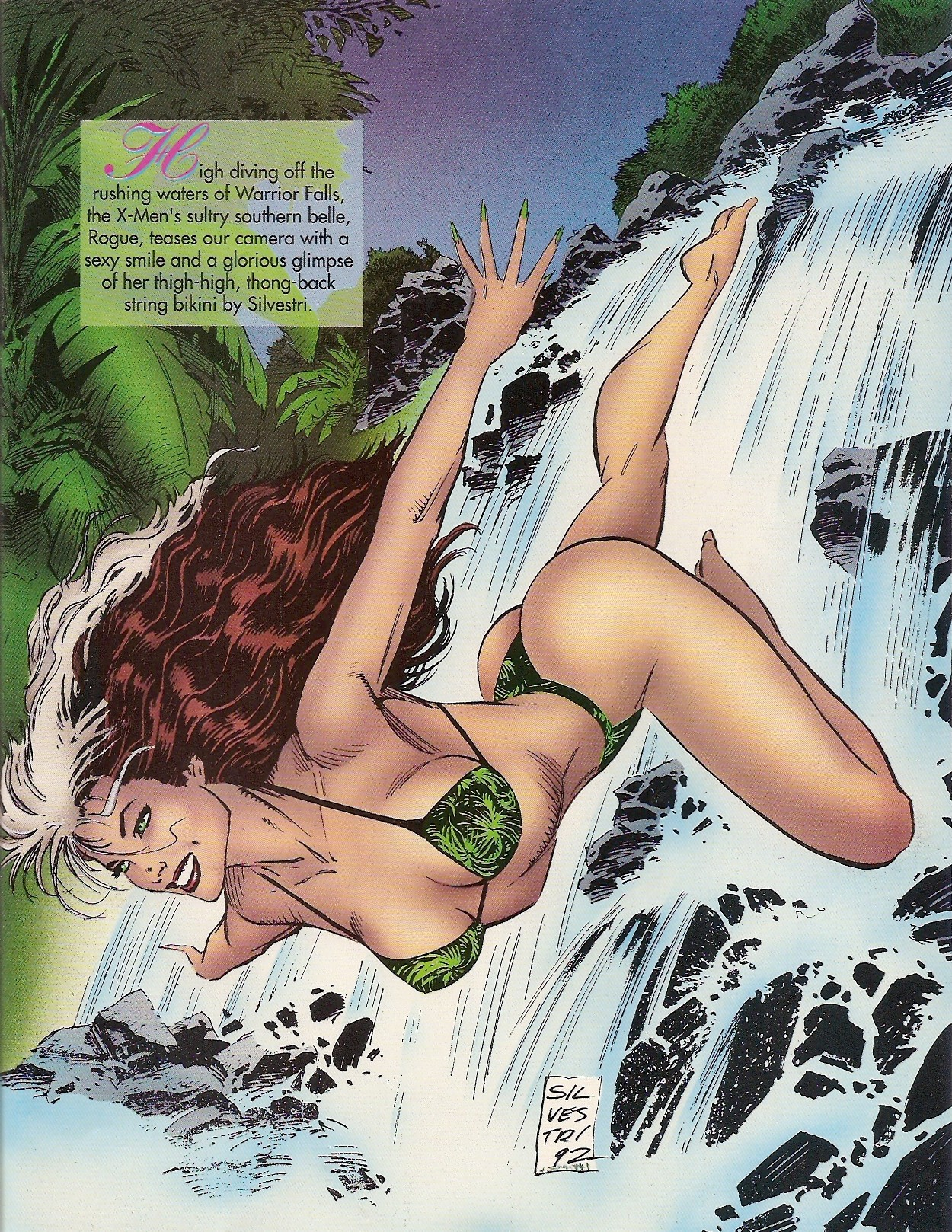 Read online Marvel Swimsuit Special comic -  Issue #1 - 39