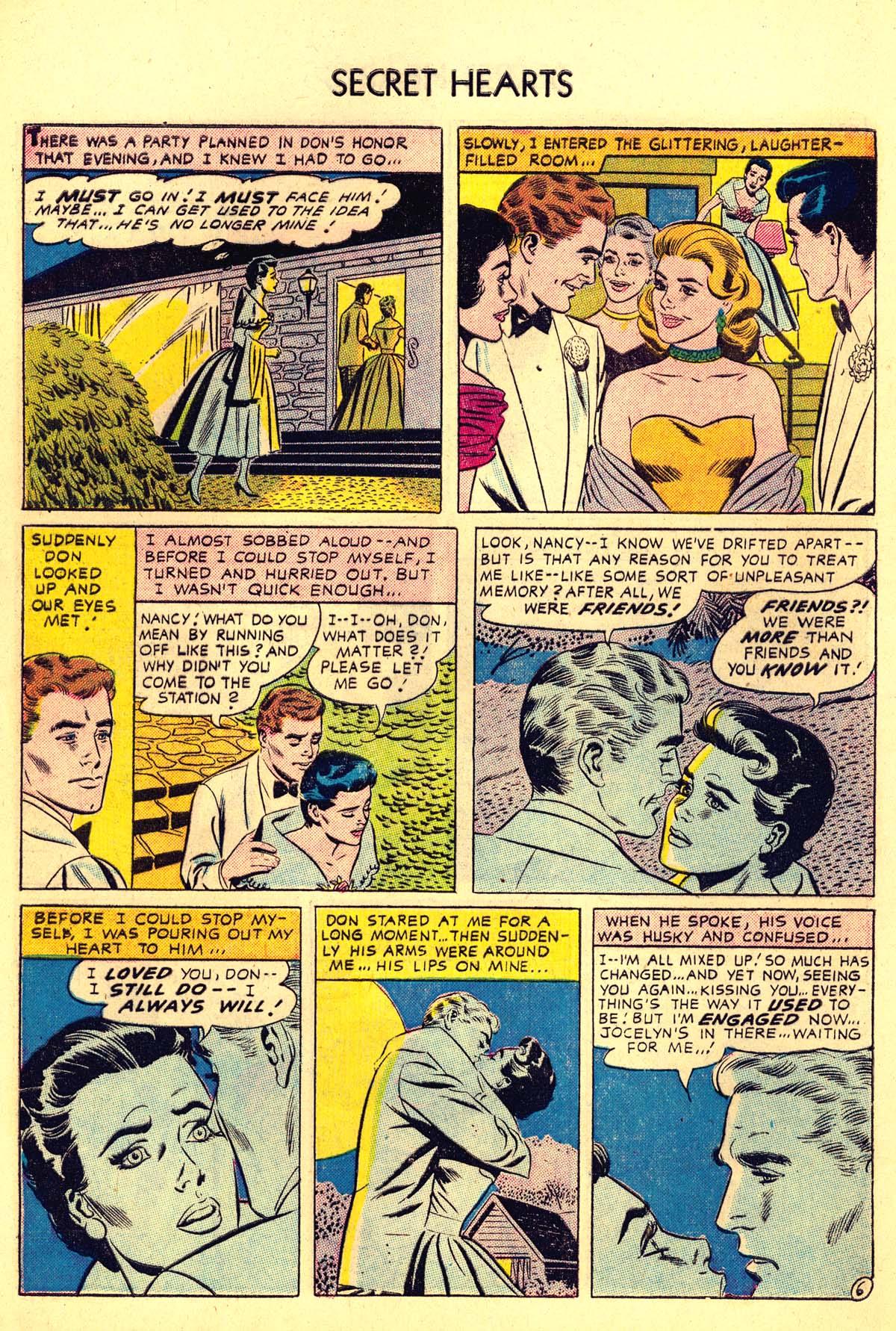 Read online Secret Hearts comic -  Issue #34 - 8