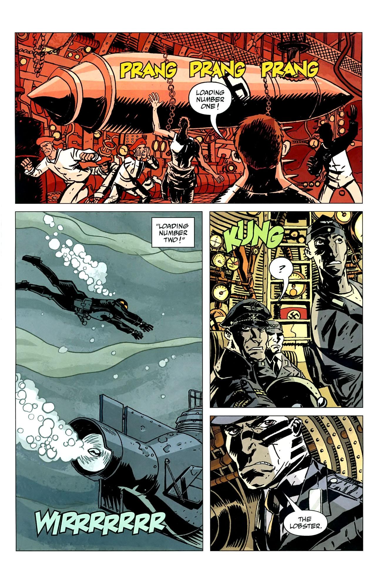 Read online Lobster Johnson: The Iron Prometheus comic -  Issue #5 - 14