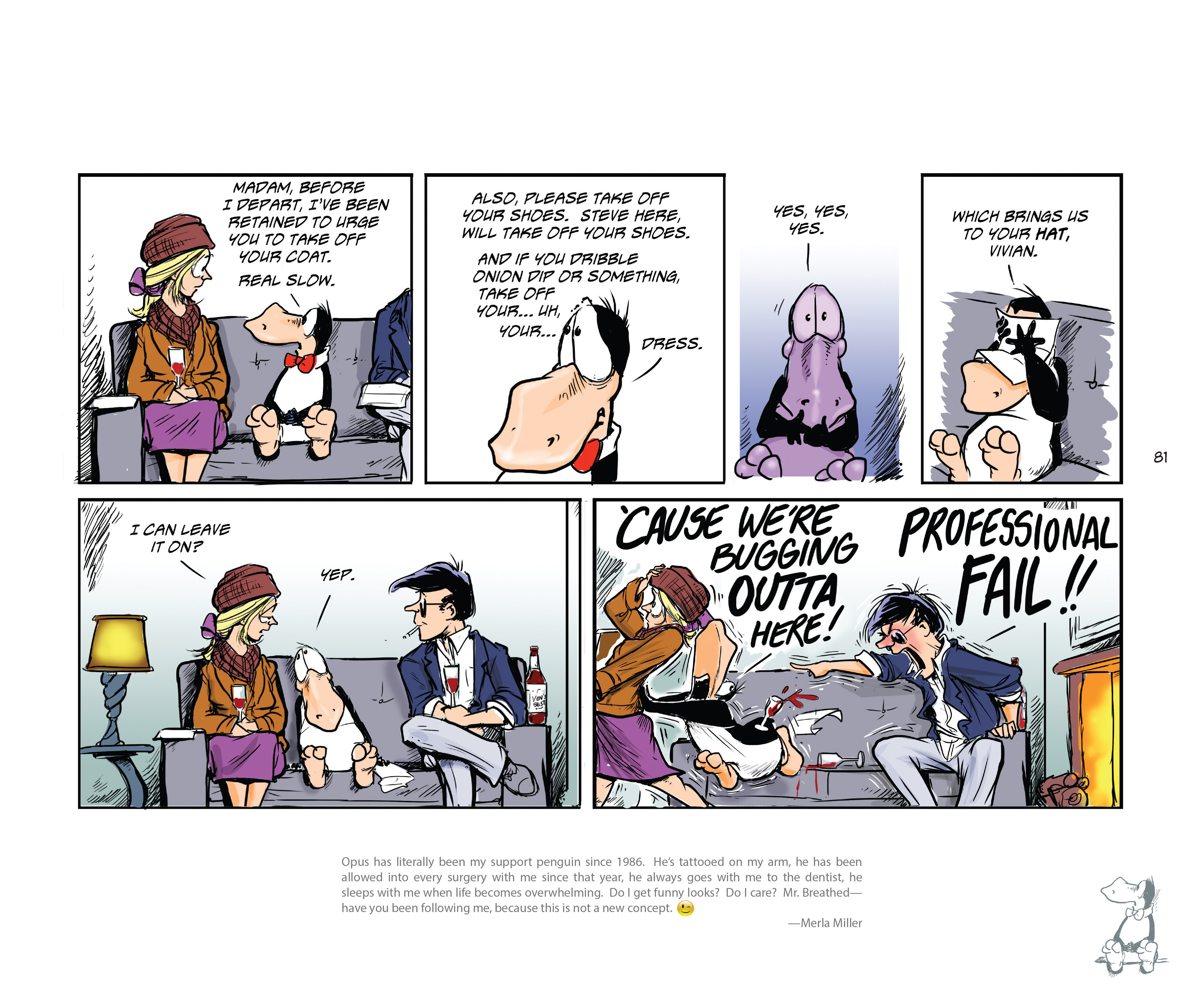 Read online Bloom County Episode XI: A New Hope comic -  Issue # Full - 83