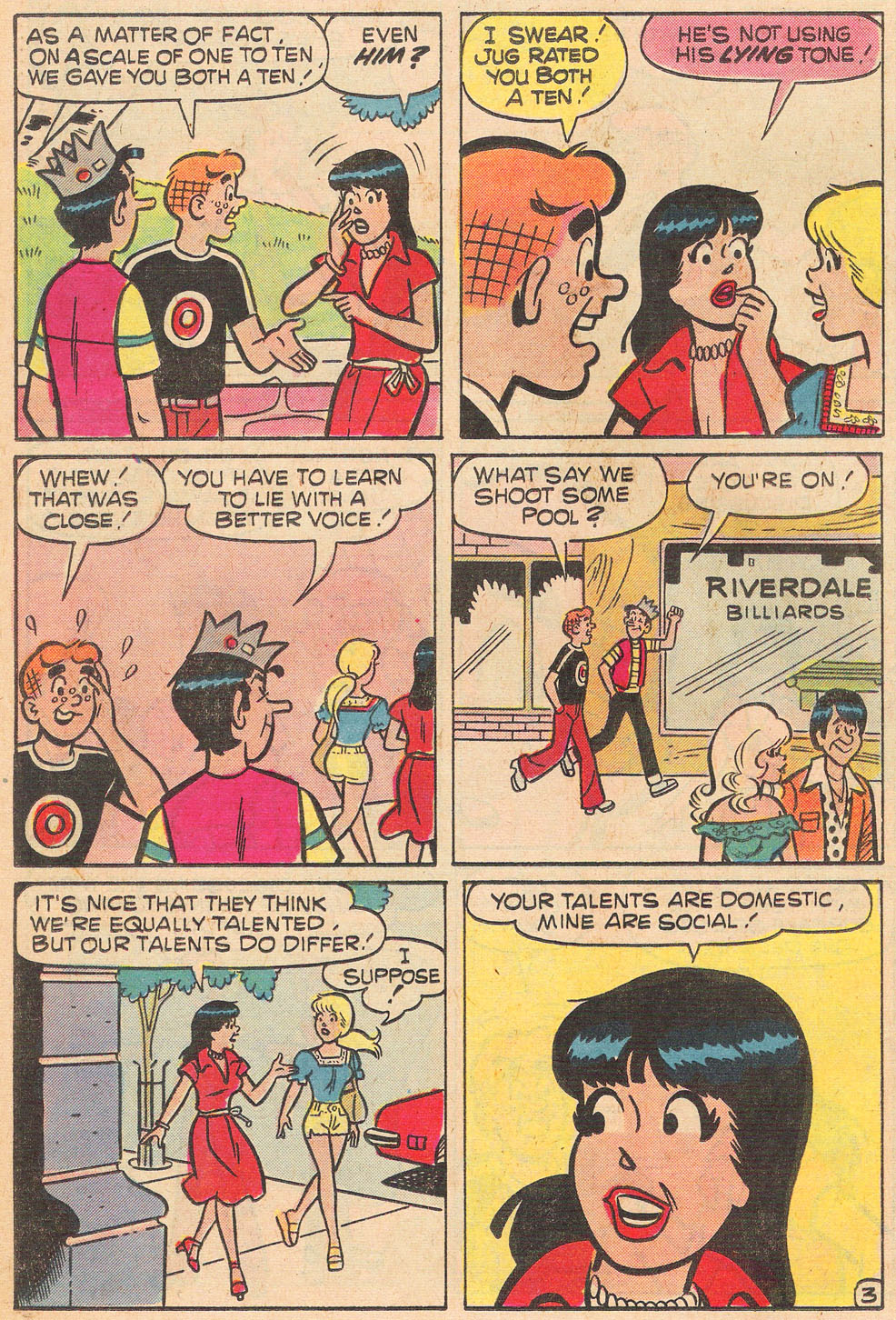 Read online Archie's Girls Betty and Veronica comic -  Issue #264 - 22