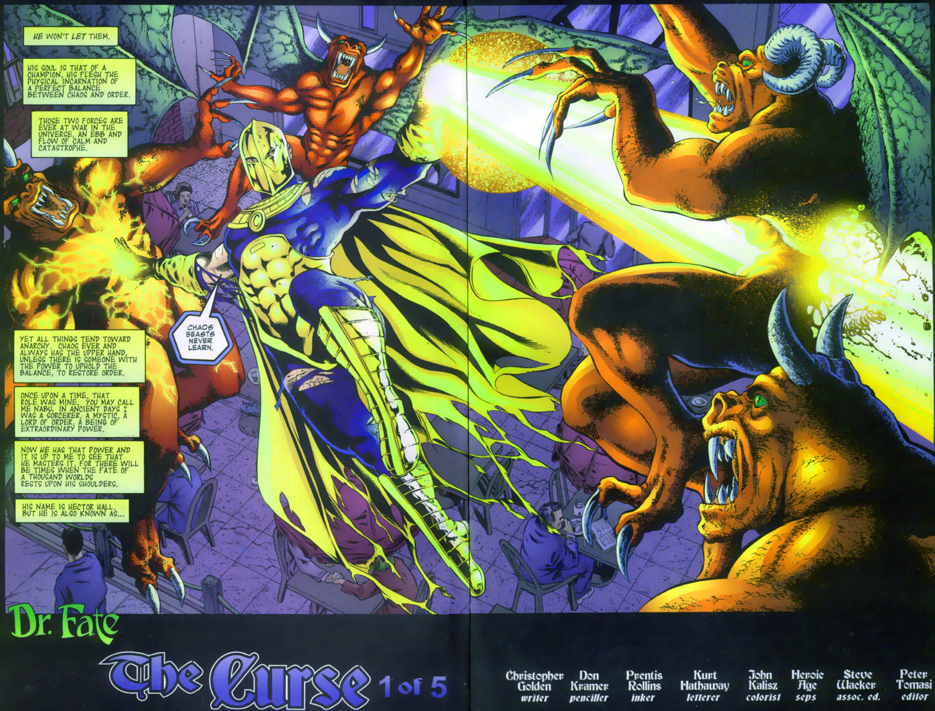 Read online Doctor Fate (2003) comic -  Issue #1 - 3
