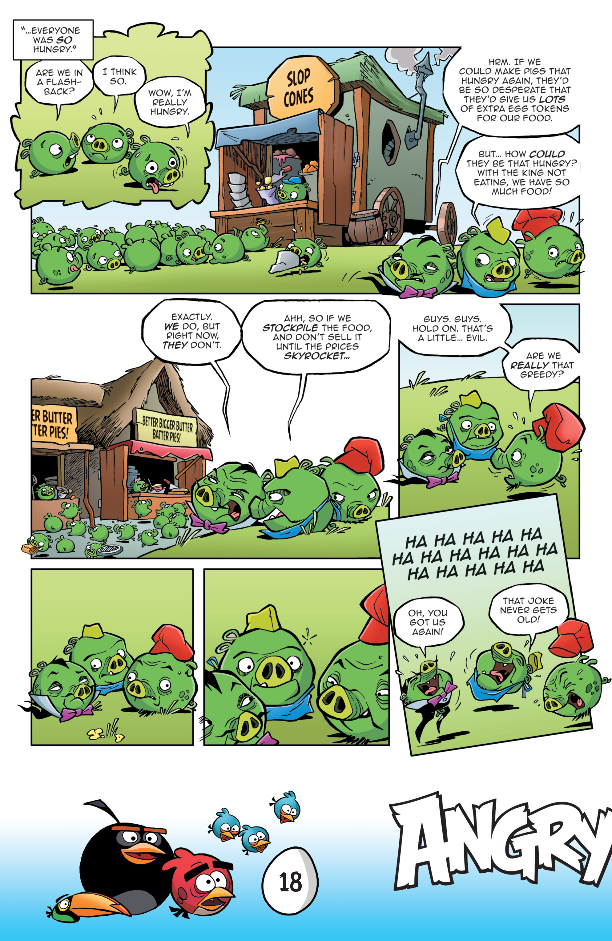 Read online Angry Birds Comics: Game Play comic -  Issue #3 - 20