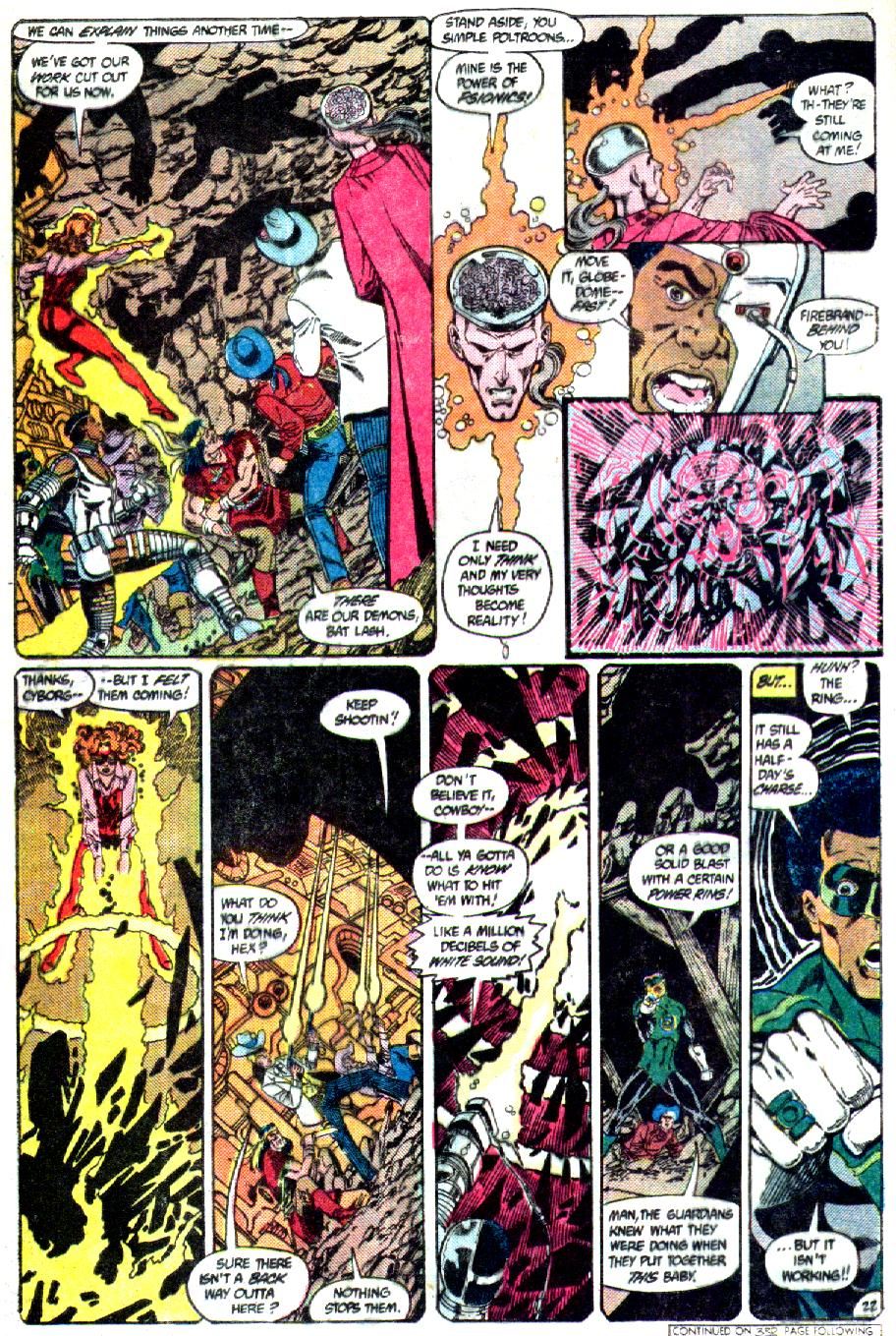 Read online Crisis on Infinite Earths (1985) comic -  Issue #3 - 23