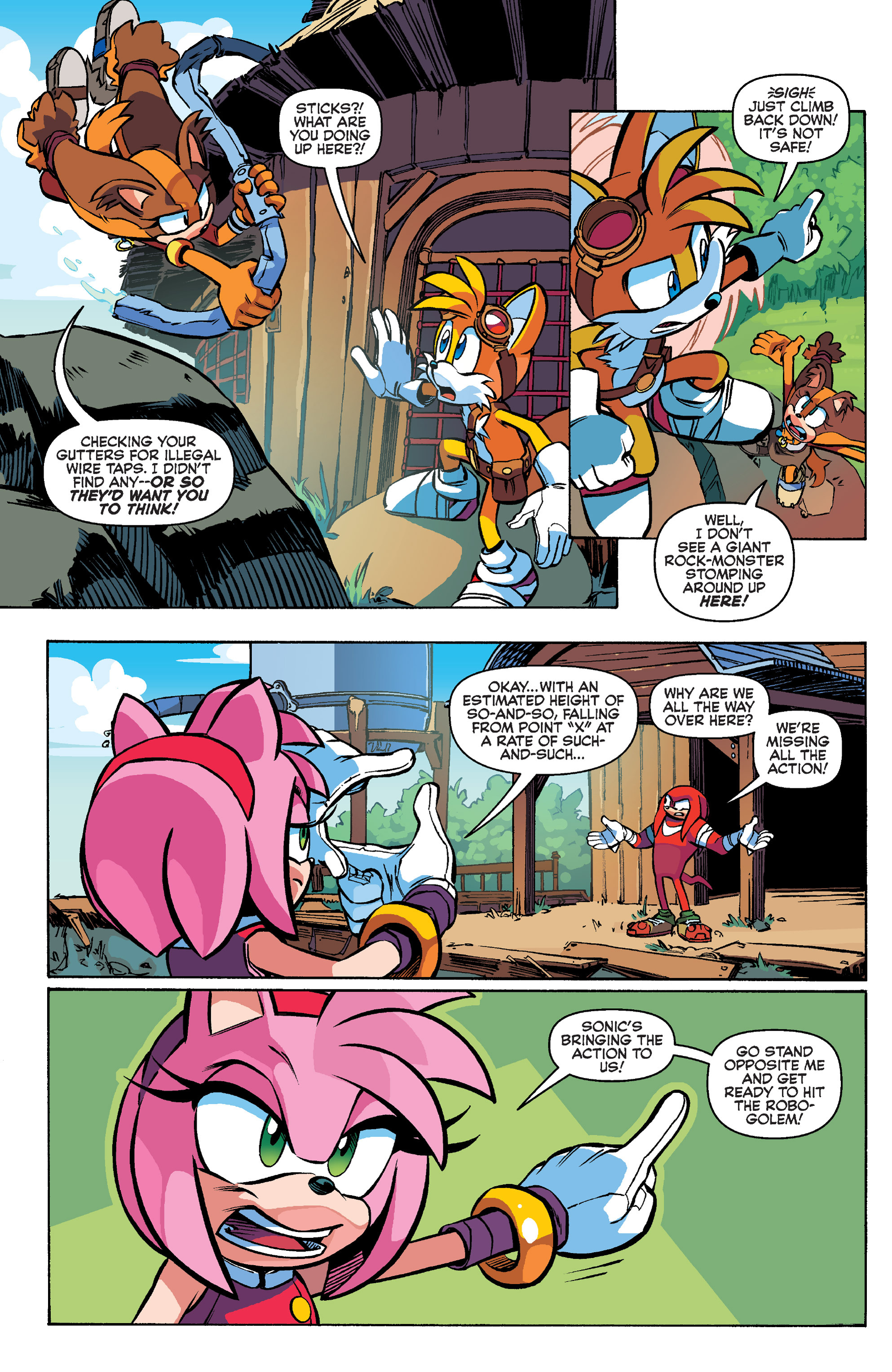 Read online Sonic Boom comic -  Issue #1 - 18