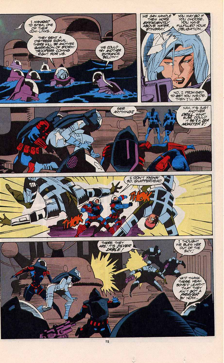 Read online Silver Sable and the Wild Pack comic -  Issue #11 - 12