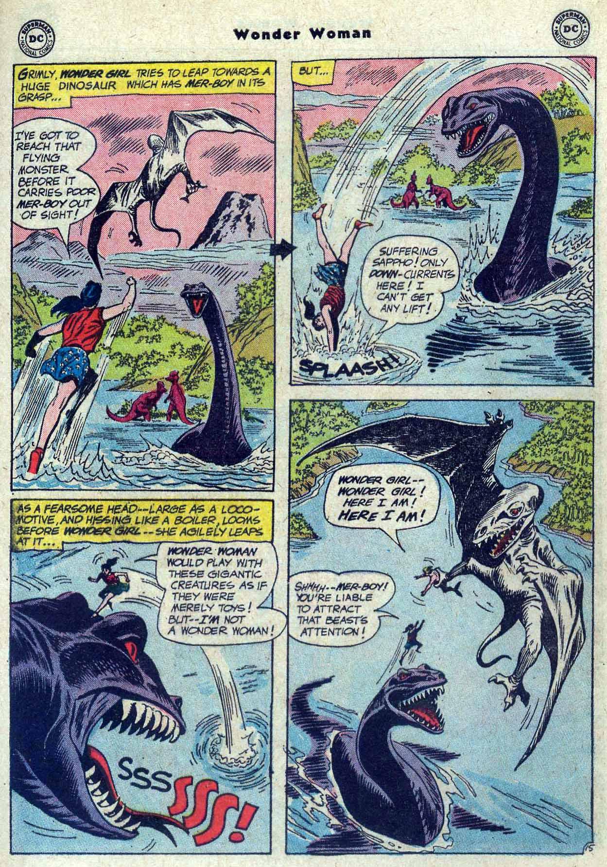 Read online Wonder Woman (1942) comic -  Issue #121 - 21