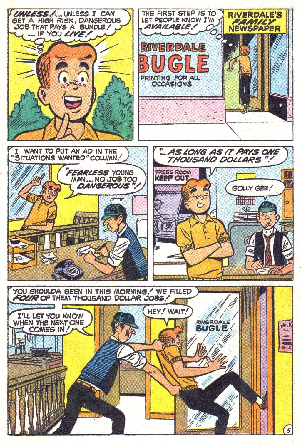 Read online Archie (1960) comic -  Issue #193 - 17